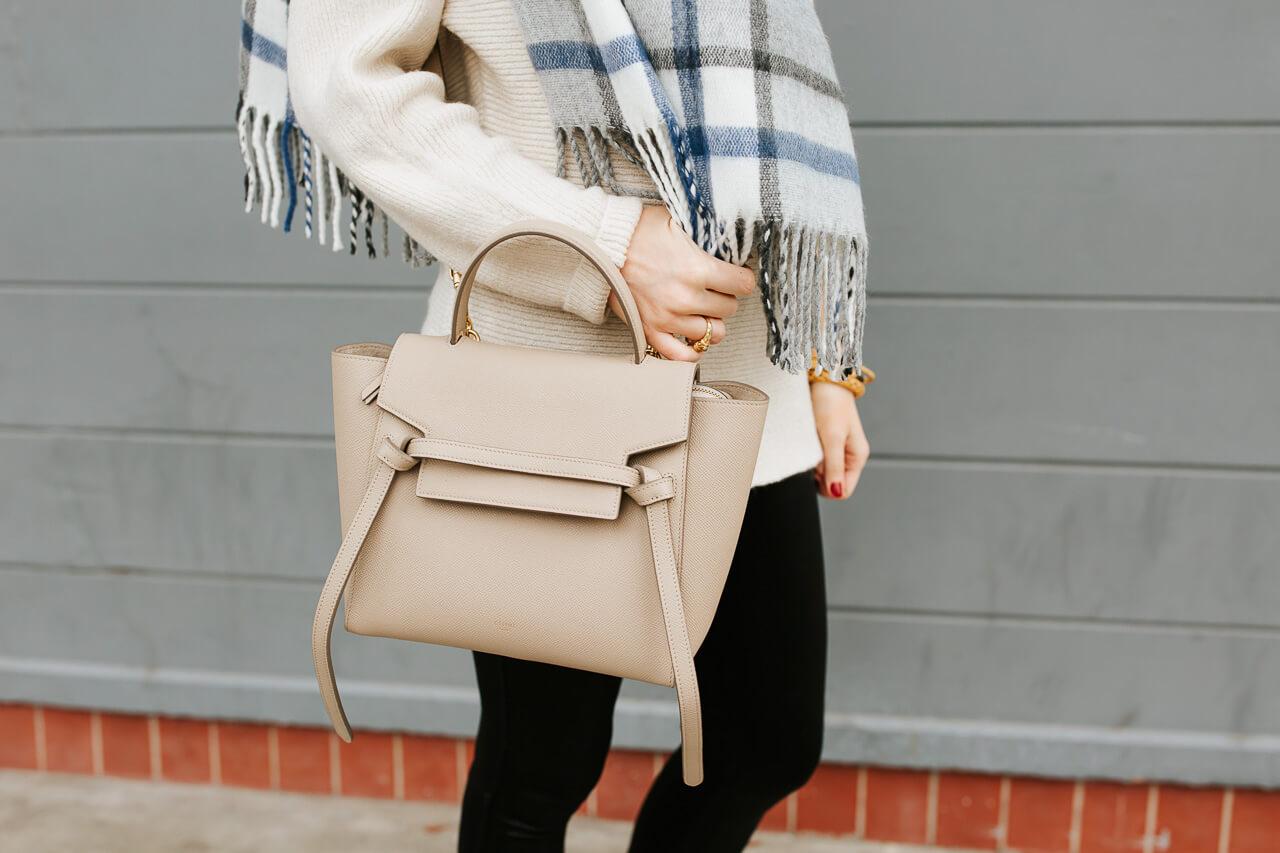 I love this nude Celine min belt bag. - M Loves M @marmar
