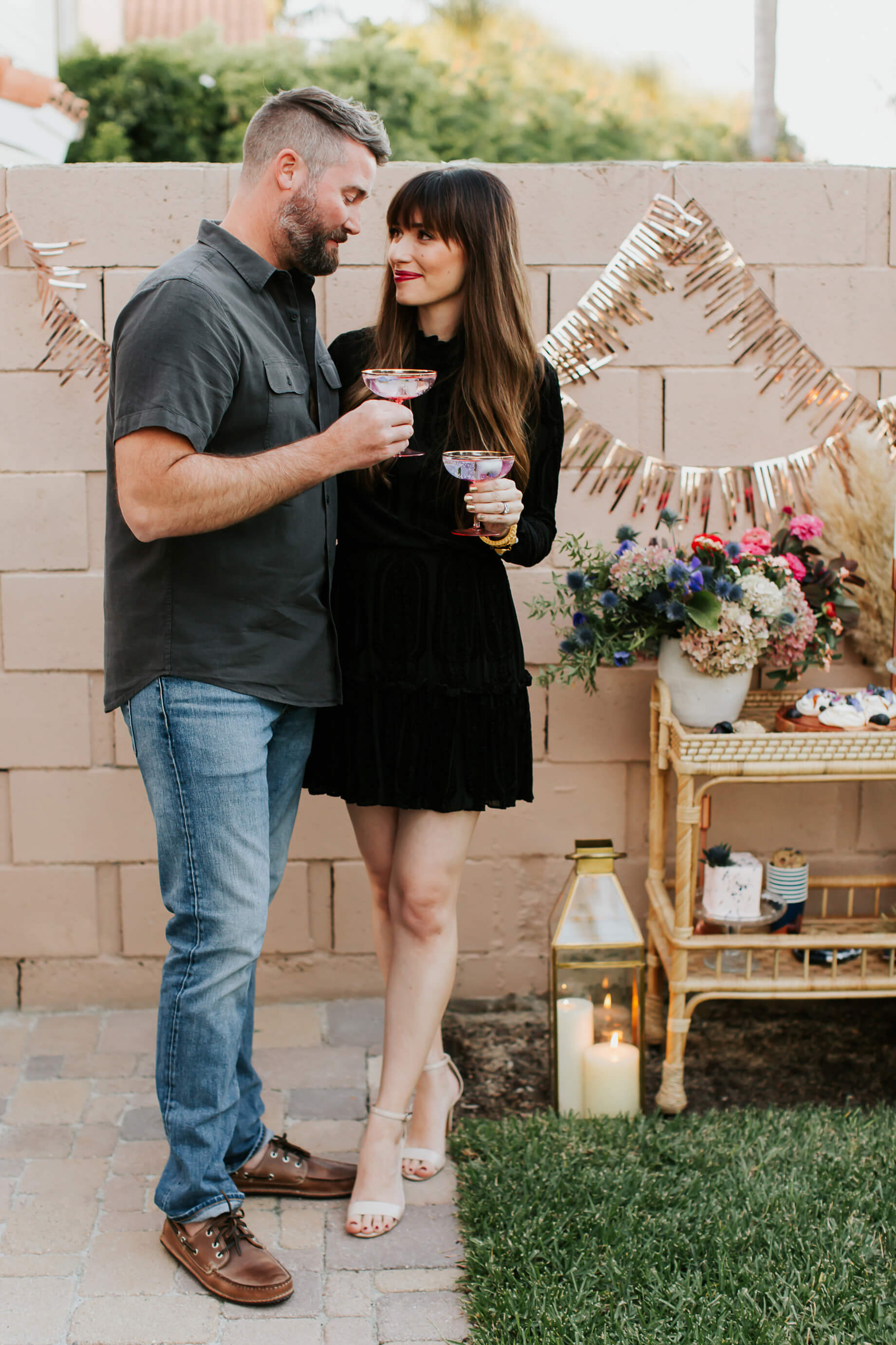 Our Evening Gender Reveal Party