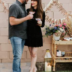 an evening gender reveal to impress your guests - M Loves M @marmar