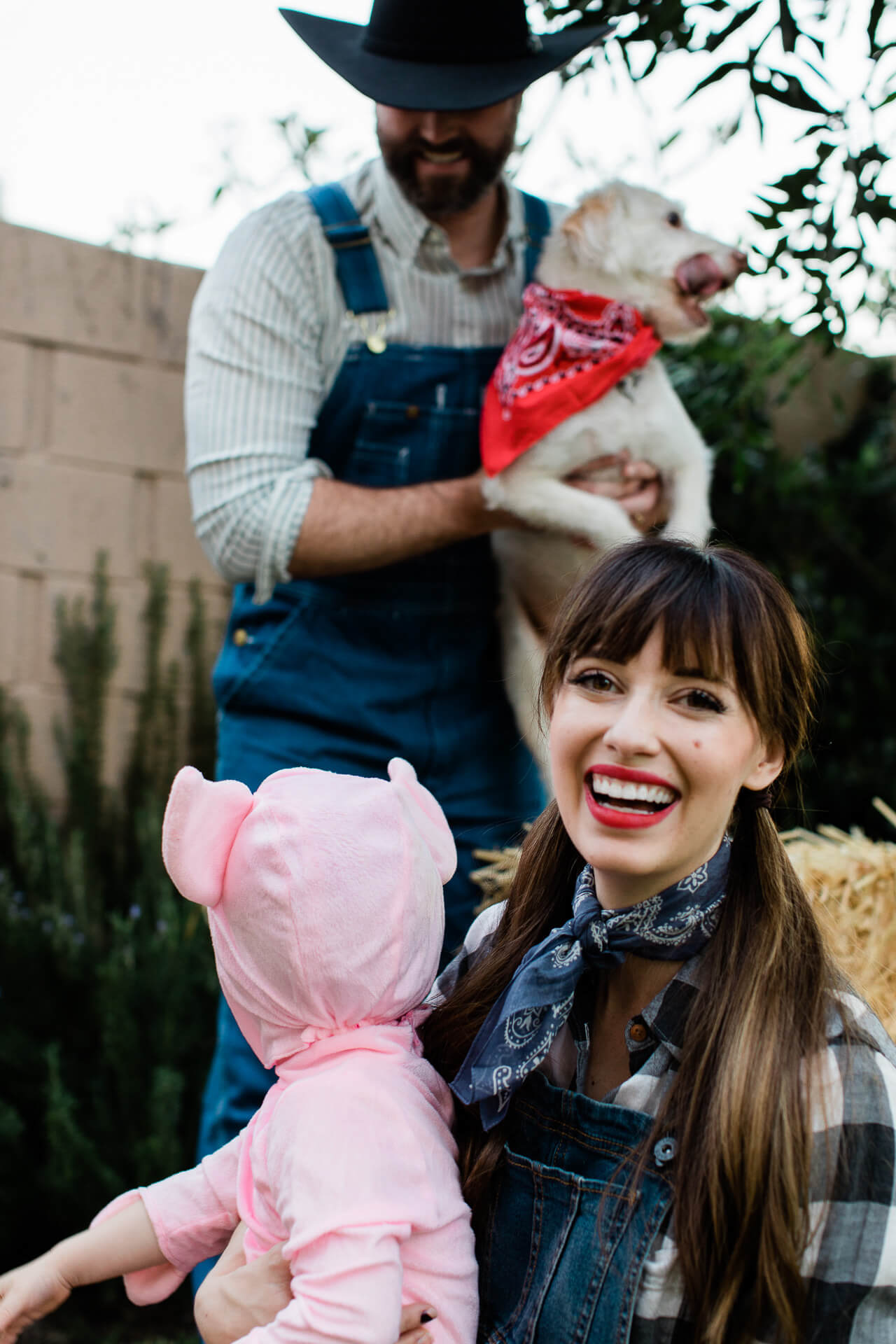 Love our farmer Halloween costumes!