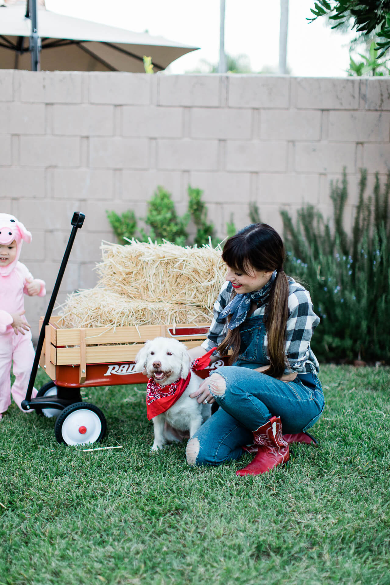 How cute are these farm themed halloween costumes? - M Loves M @marmar