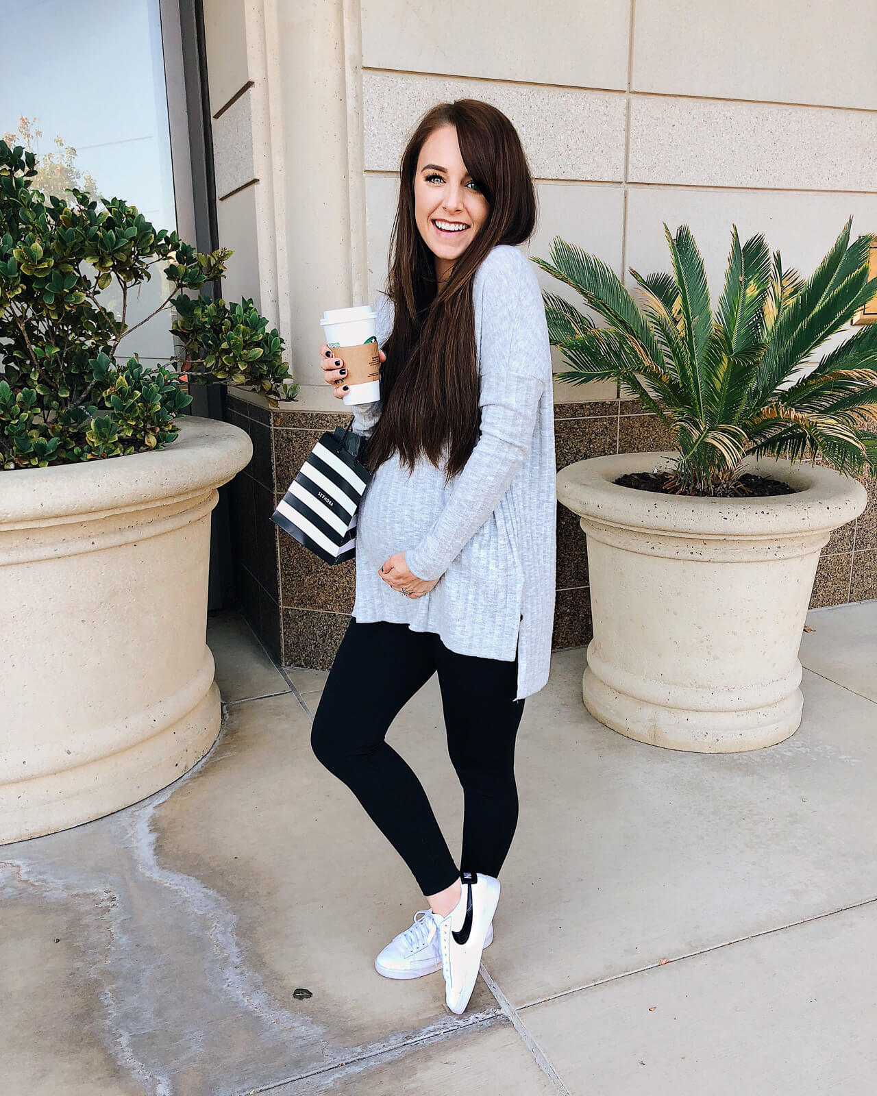Daryl-Ann from Something Beautiful Blog Pregnancy