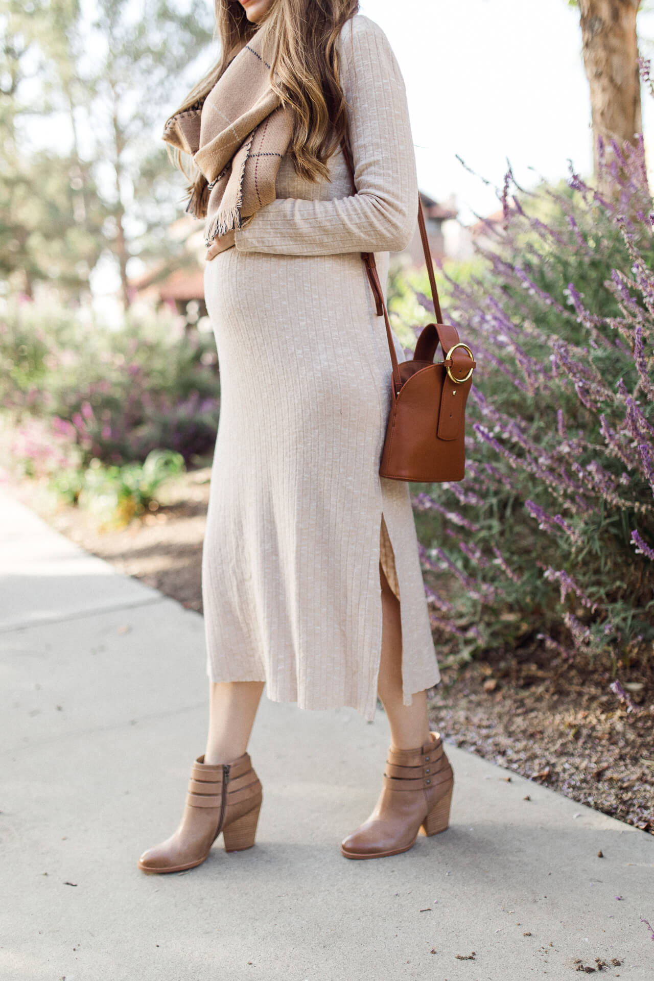 This cream Topshop sweater dress! - M Loves M @marmar
