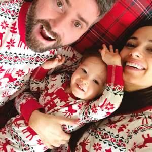 The cutest family Christmas pajamas!- M Loves M @marmar