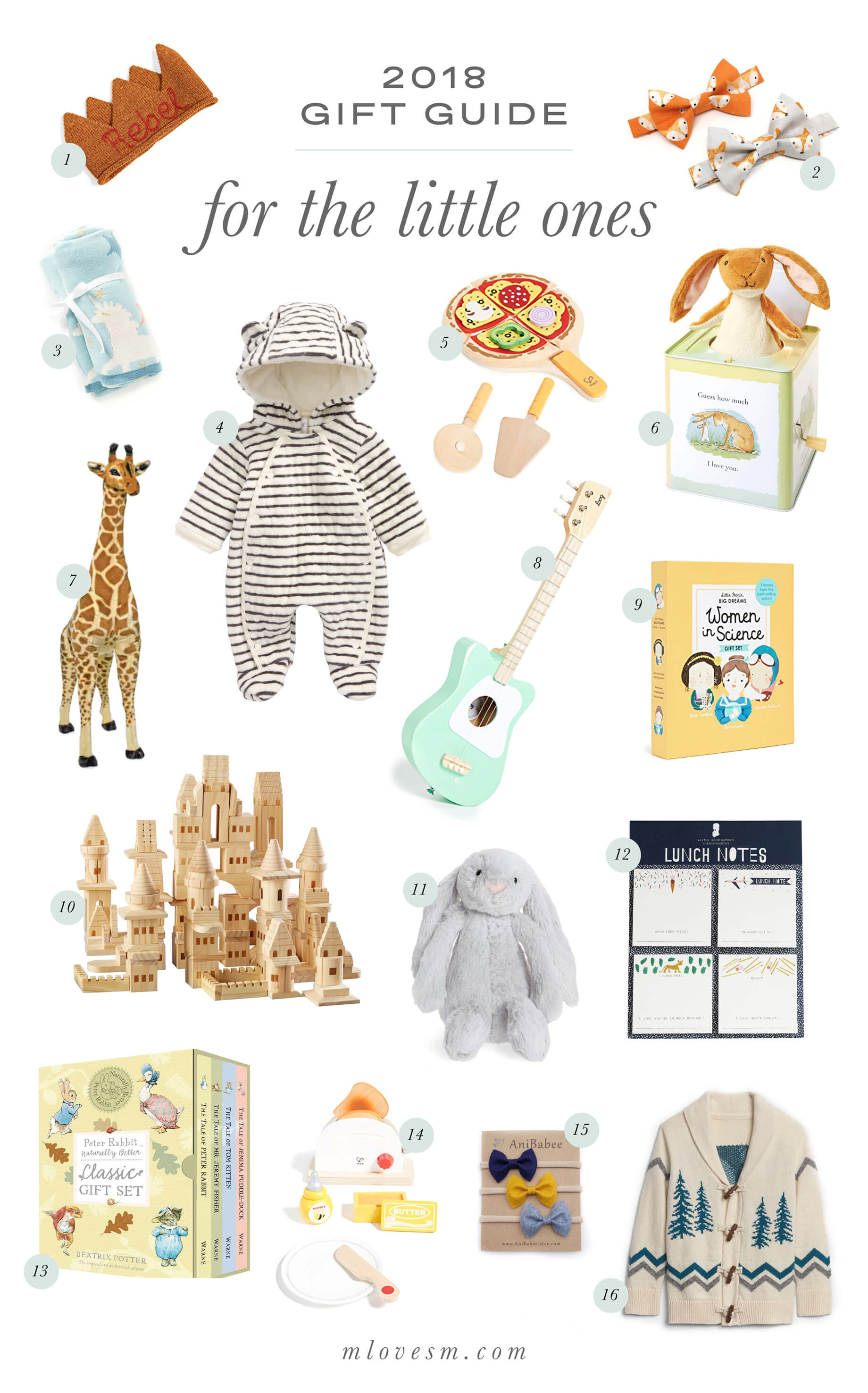 How sweet is this gift guide for kids?! - M Loves M @marmar