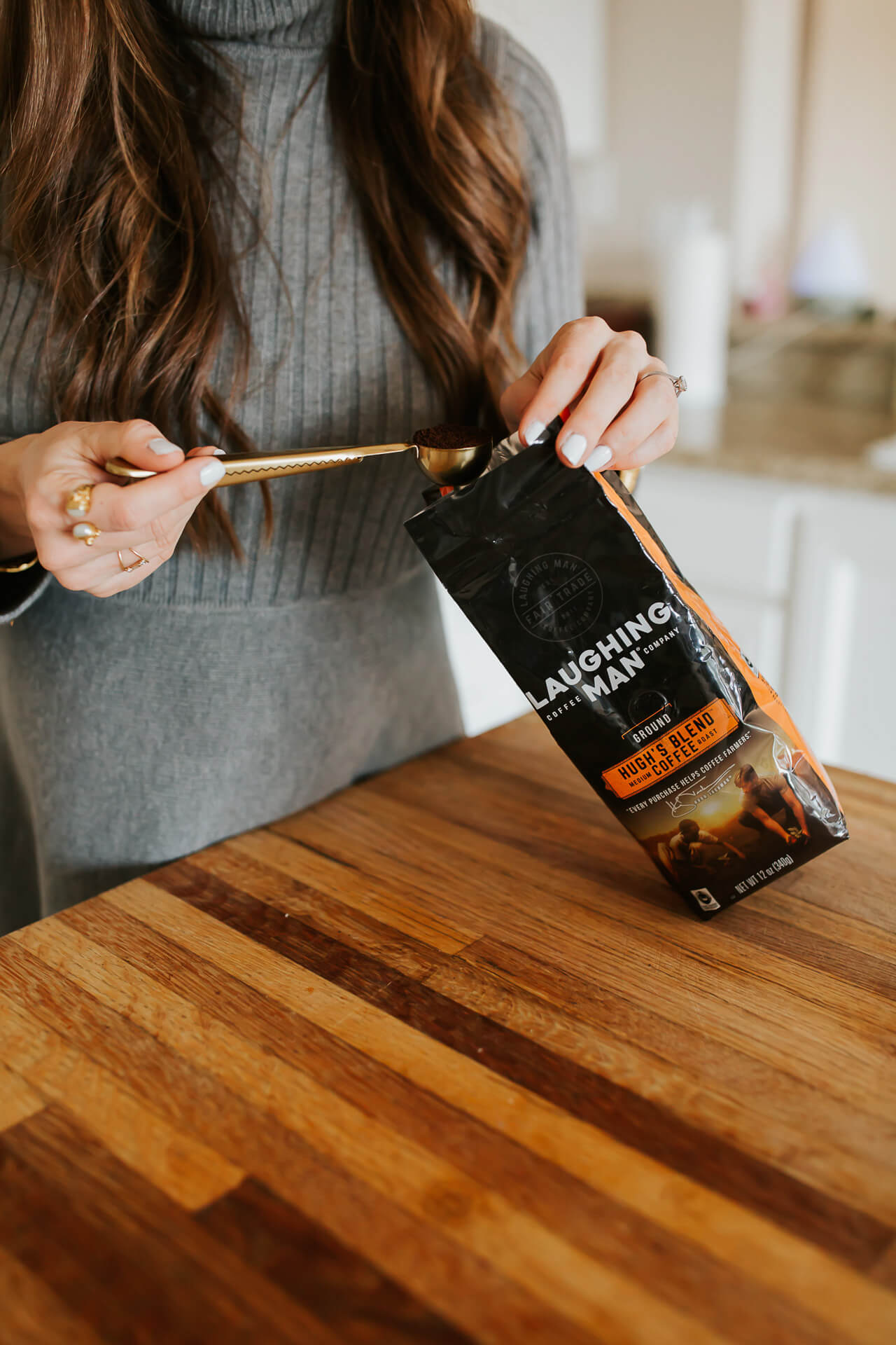 This Laughing Man Coffee blend is so delicious! - M Loves M @marmar
