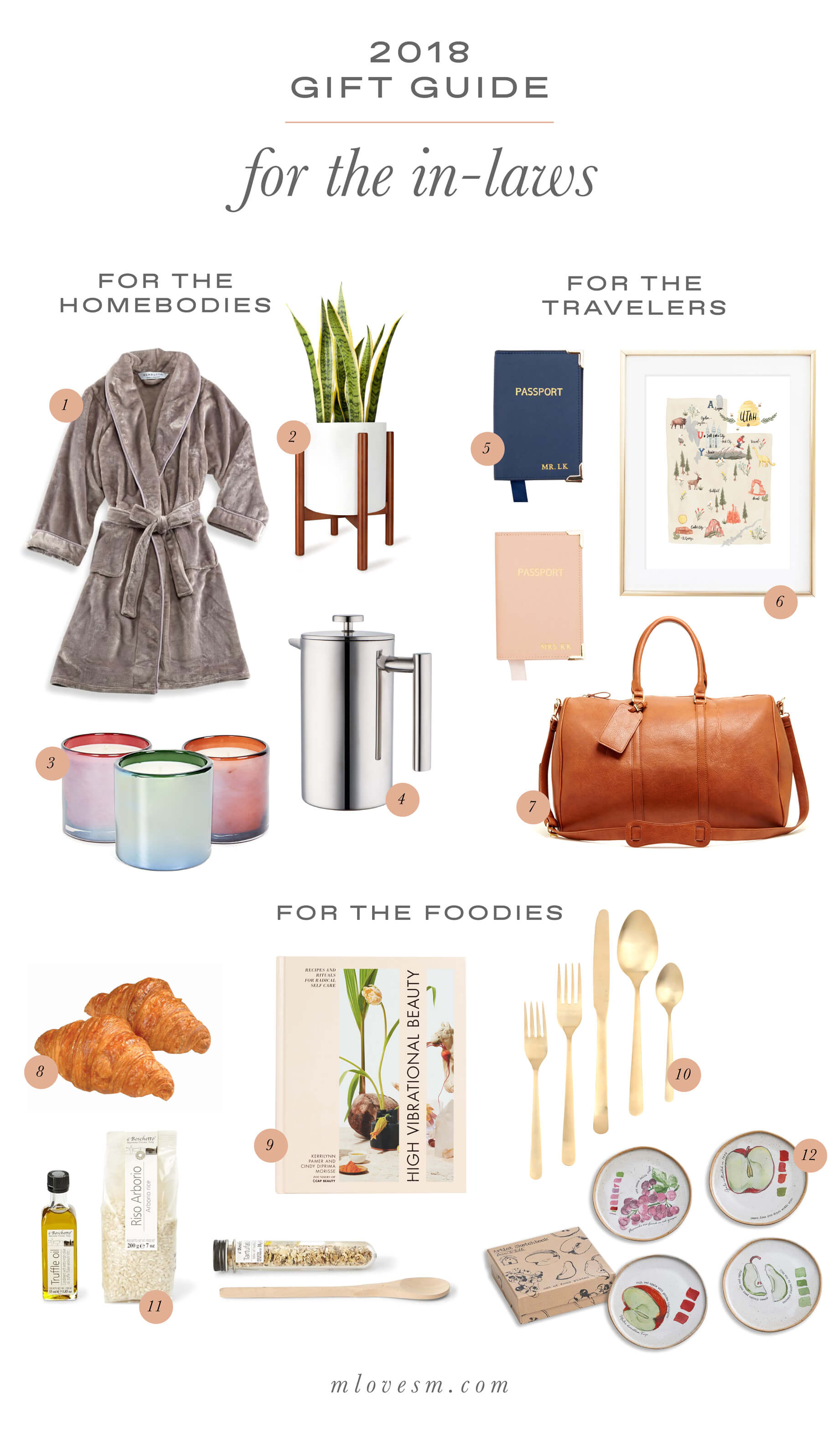 This gift guide for in-laws is so helpful! - M Loves M @marmar