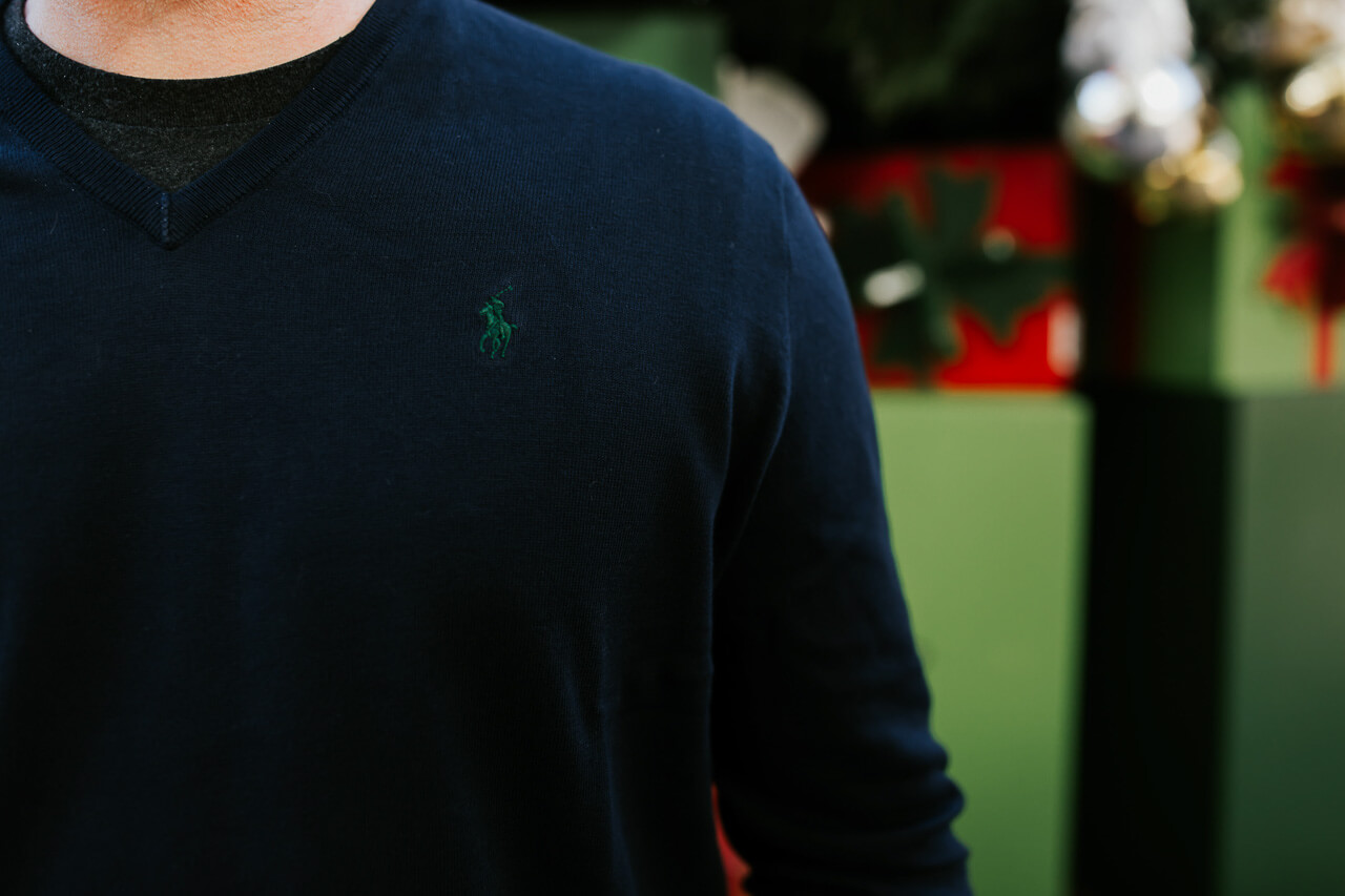 This Ralph Lauren navy sweater is so classic! - M Loves M @marmar