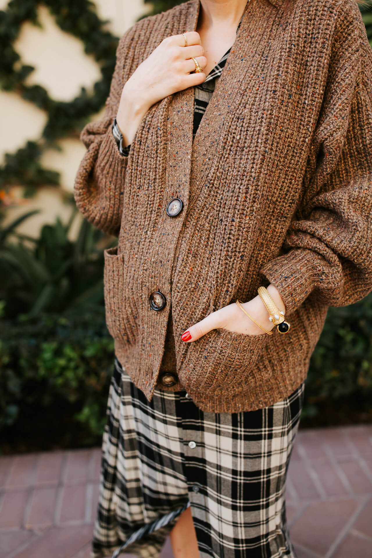 This Ralph Lauren Polo brown cardigan is so cozy! - M Loves M @marmar