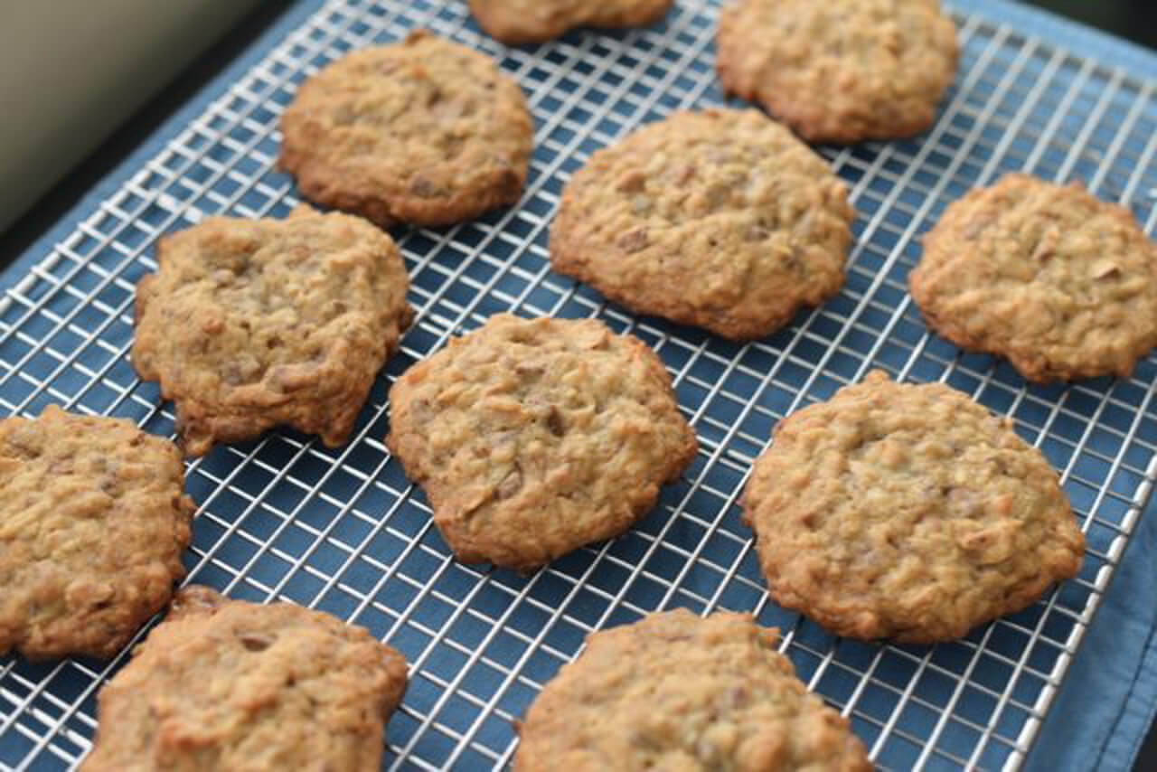 Love this toffee nut cookie recipe! - M Loves M @marmar
