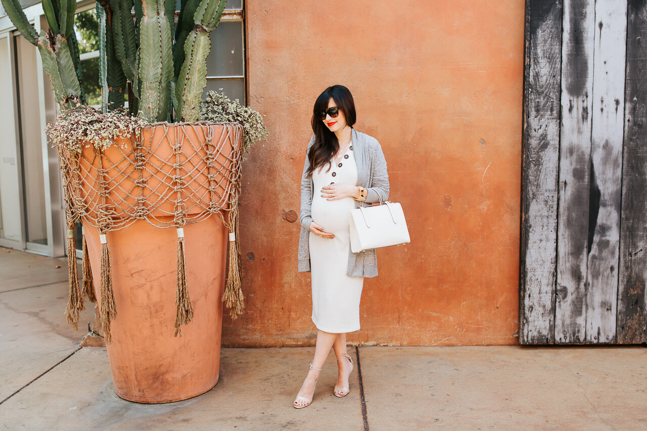 Maternity sweater dress from All in Favor! - M Loves M @marmar