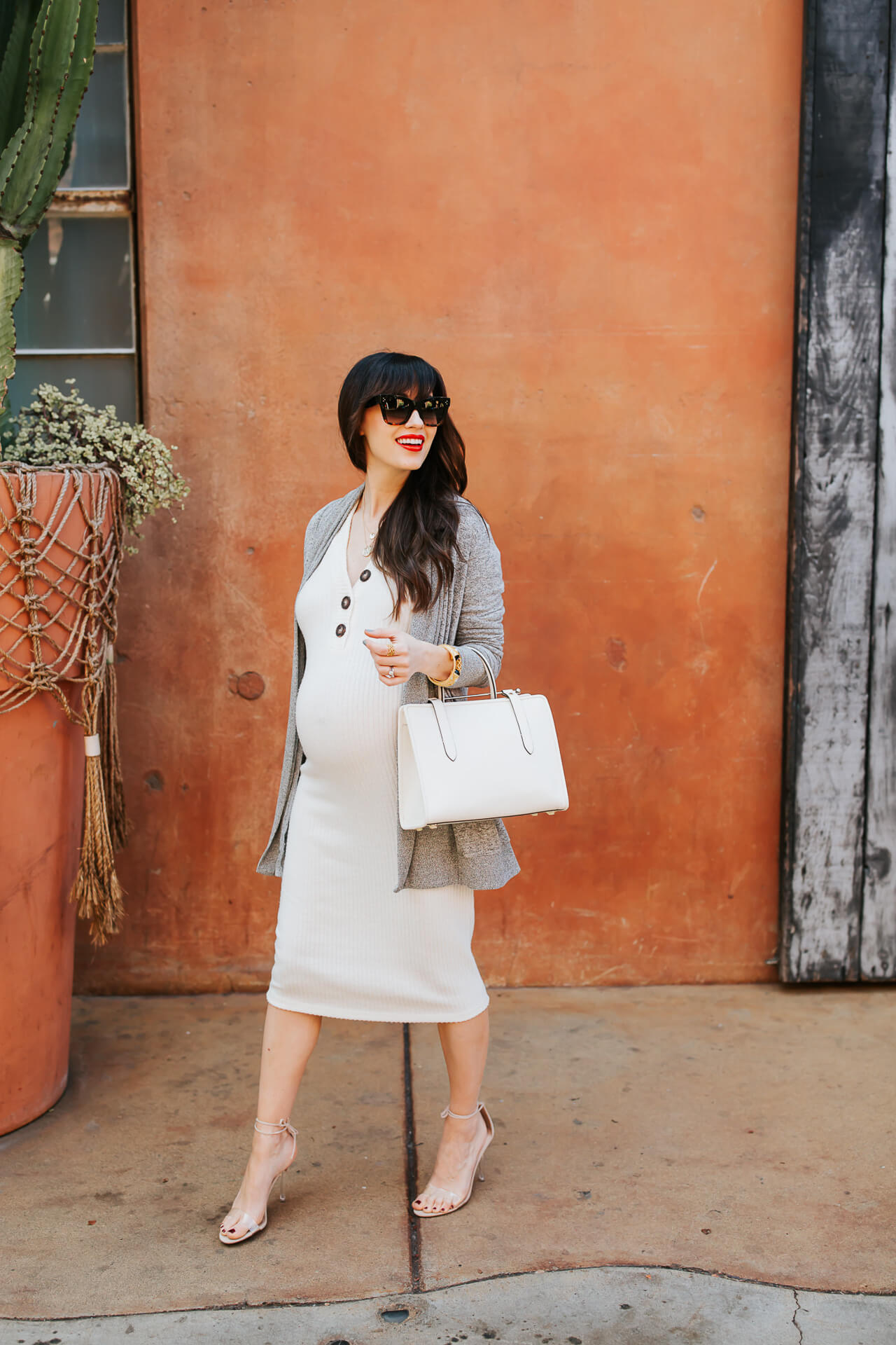My neutral maternity outfit! - M Loves M @marmar
