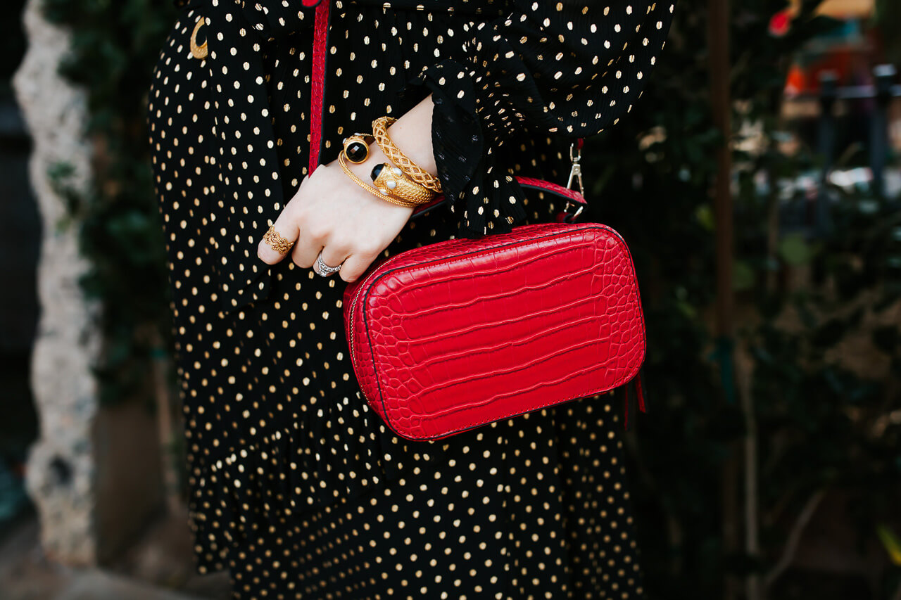 A red handbag from the Who What Wear collection at Target! - M Loves M @marmar