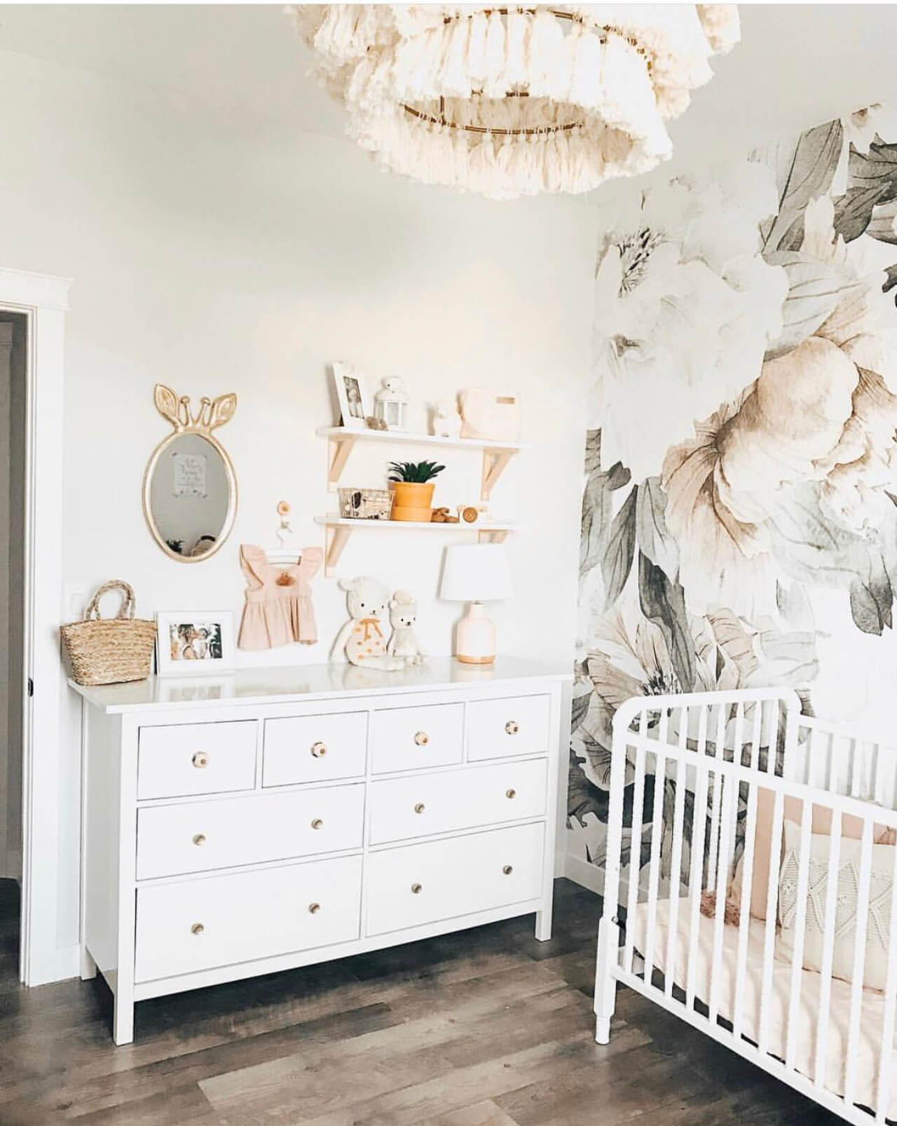 Our Baby Girl Nursery Decor Inspiration  M Loves M