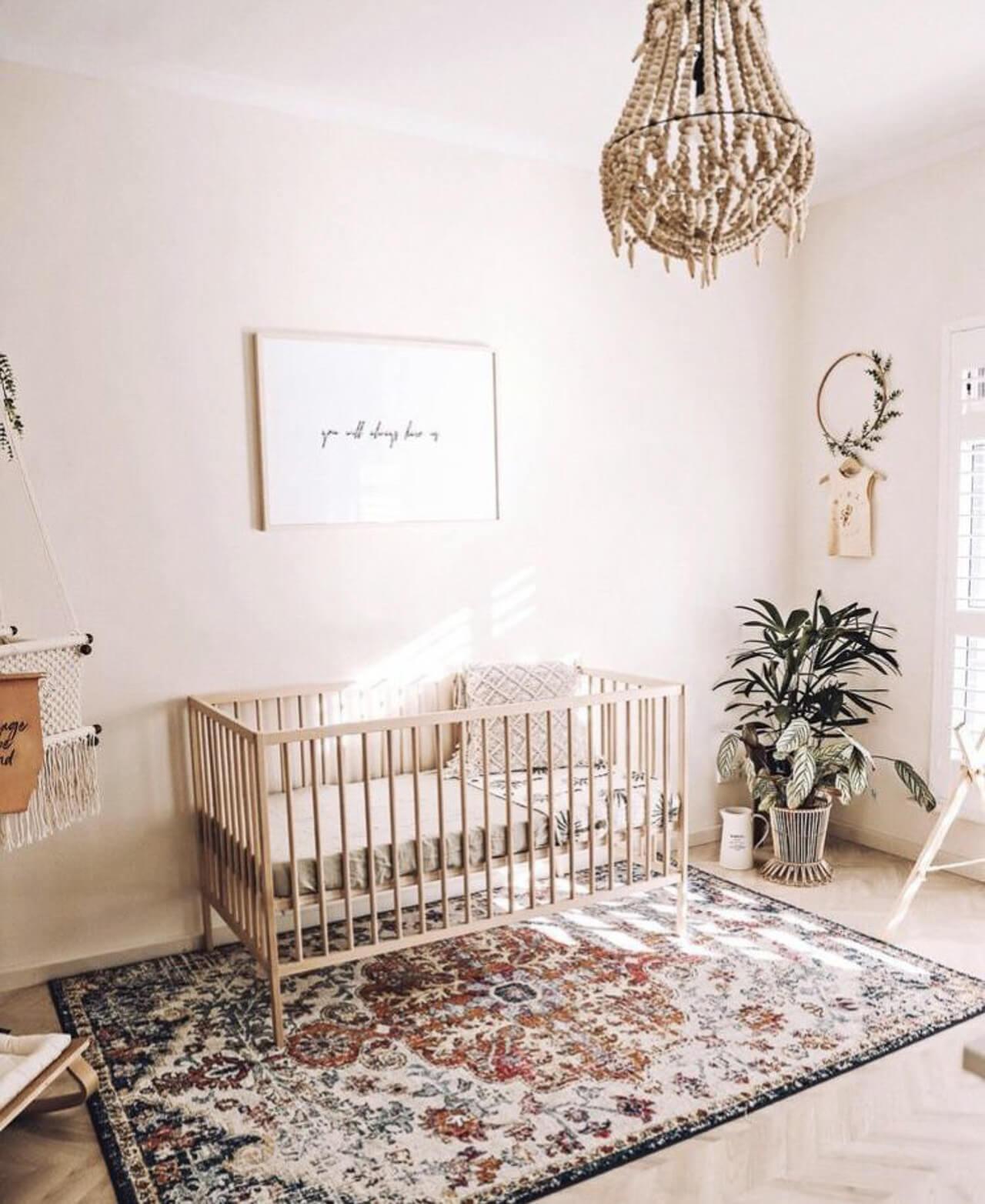 I love neutral baby nursery decor! - M Loves M @marmar