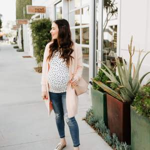 Love this polka dot top combo! - M Loves M @marmar