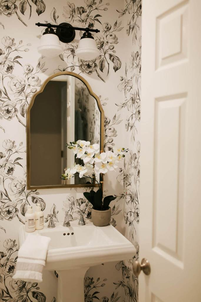 Our powder bathroom makeover reveal! - M Loves M @marmar