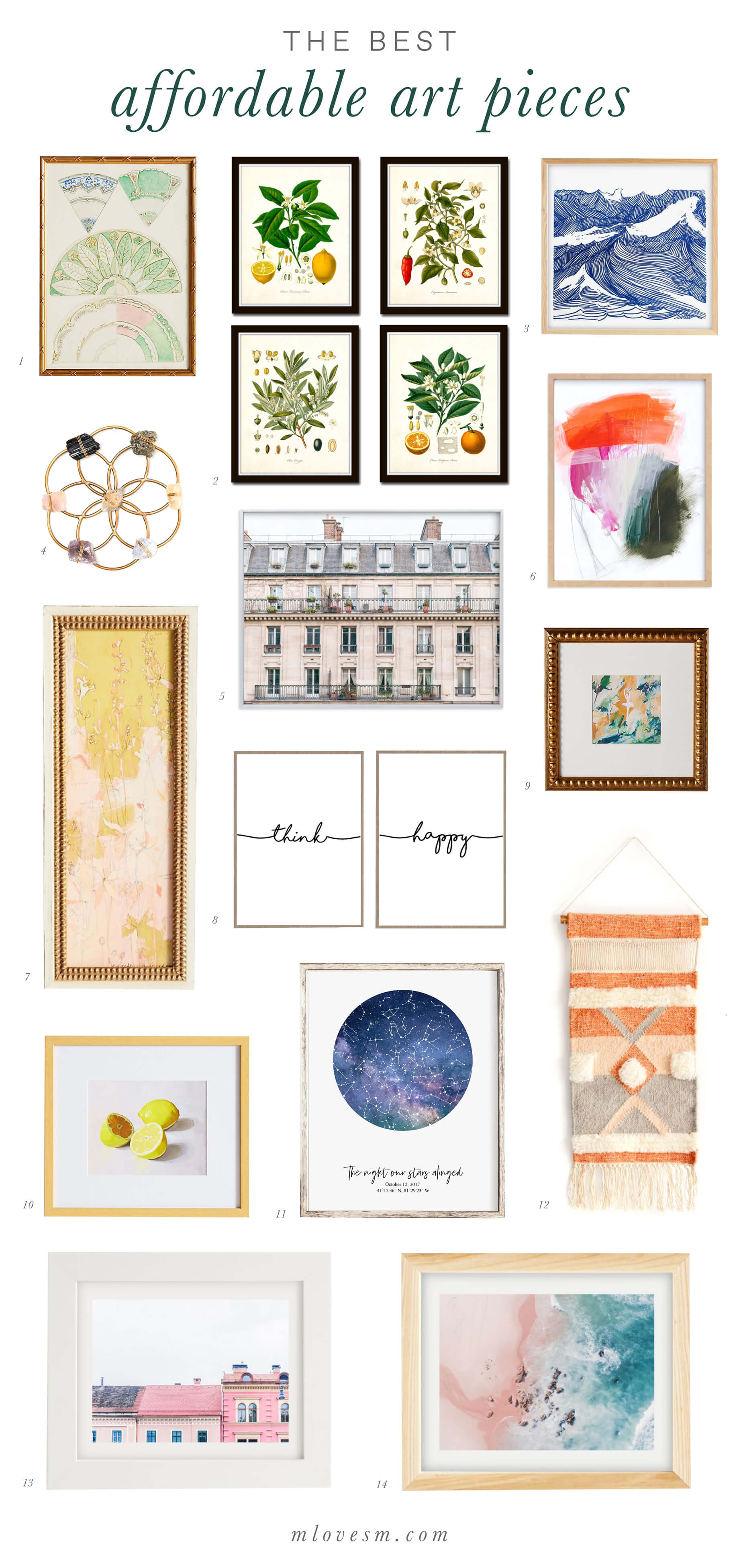 The best affordable art pieces! - M Loves M @marmar