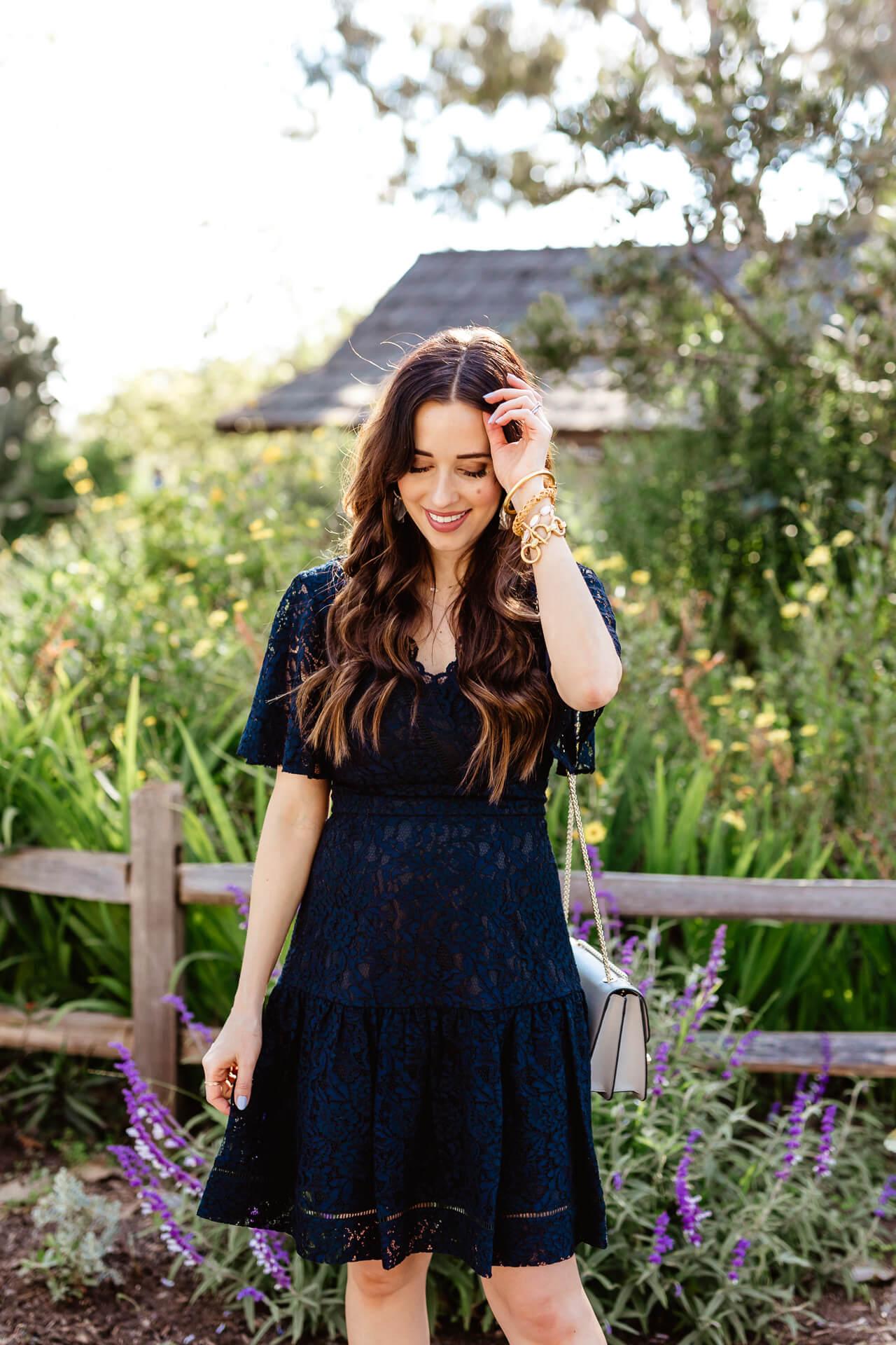 Love this Eliza J lace dress! - M Loves M @marmar