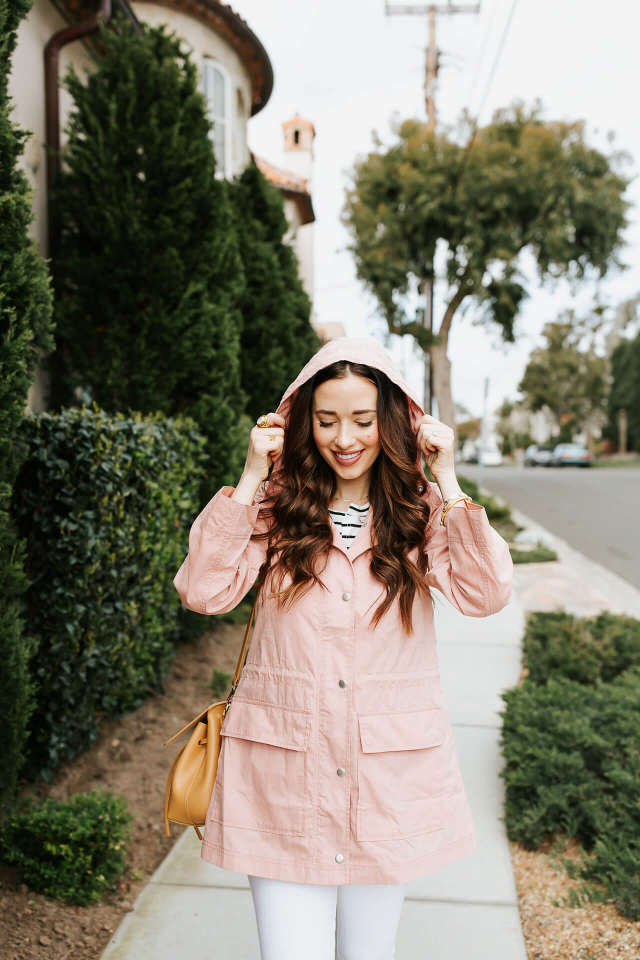 A pink rain coat from Madewell! - M Loves M @marmar
