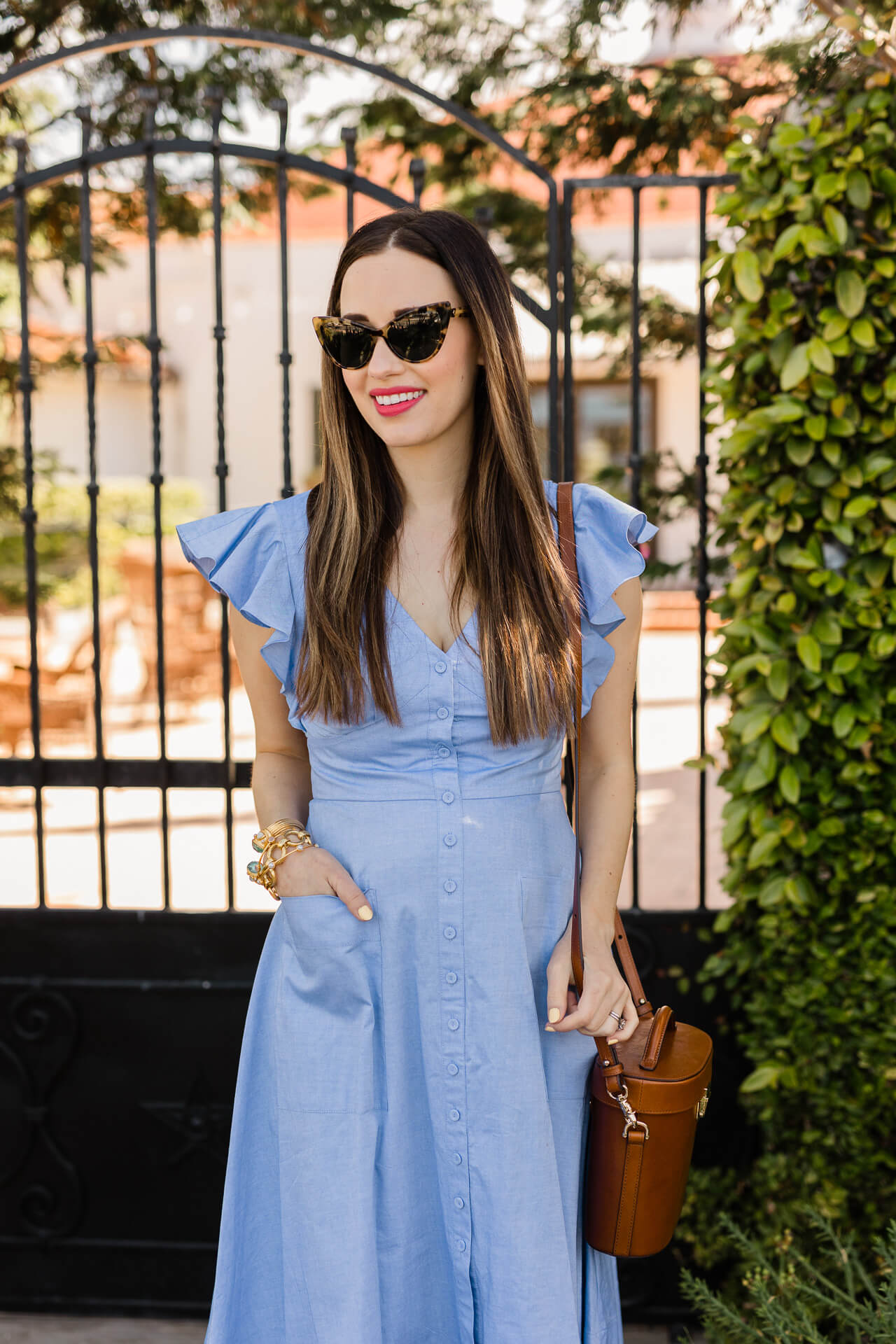 A chambray dress for spring! - M Loves M @marmar