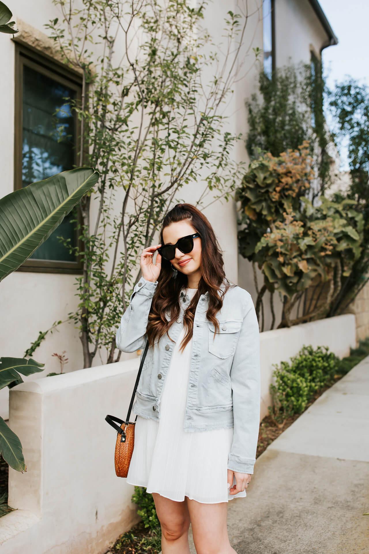 Love this white summer dress! - M Loves M @marmar
