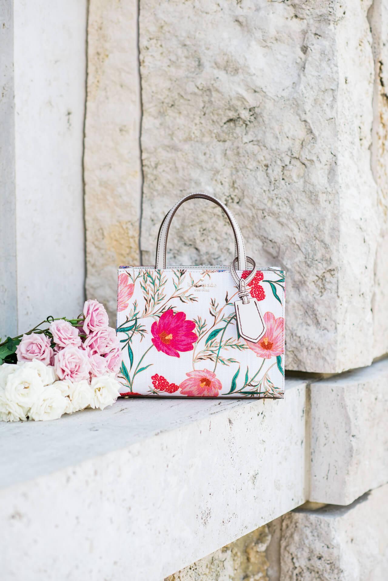 A floral Kate Spade handbag! - M Loves M