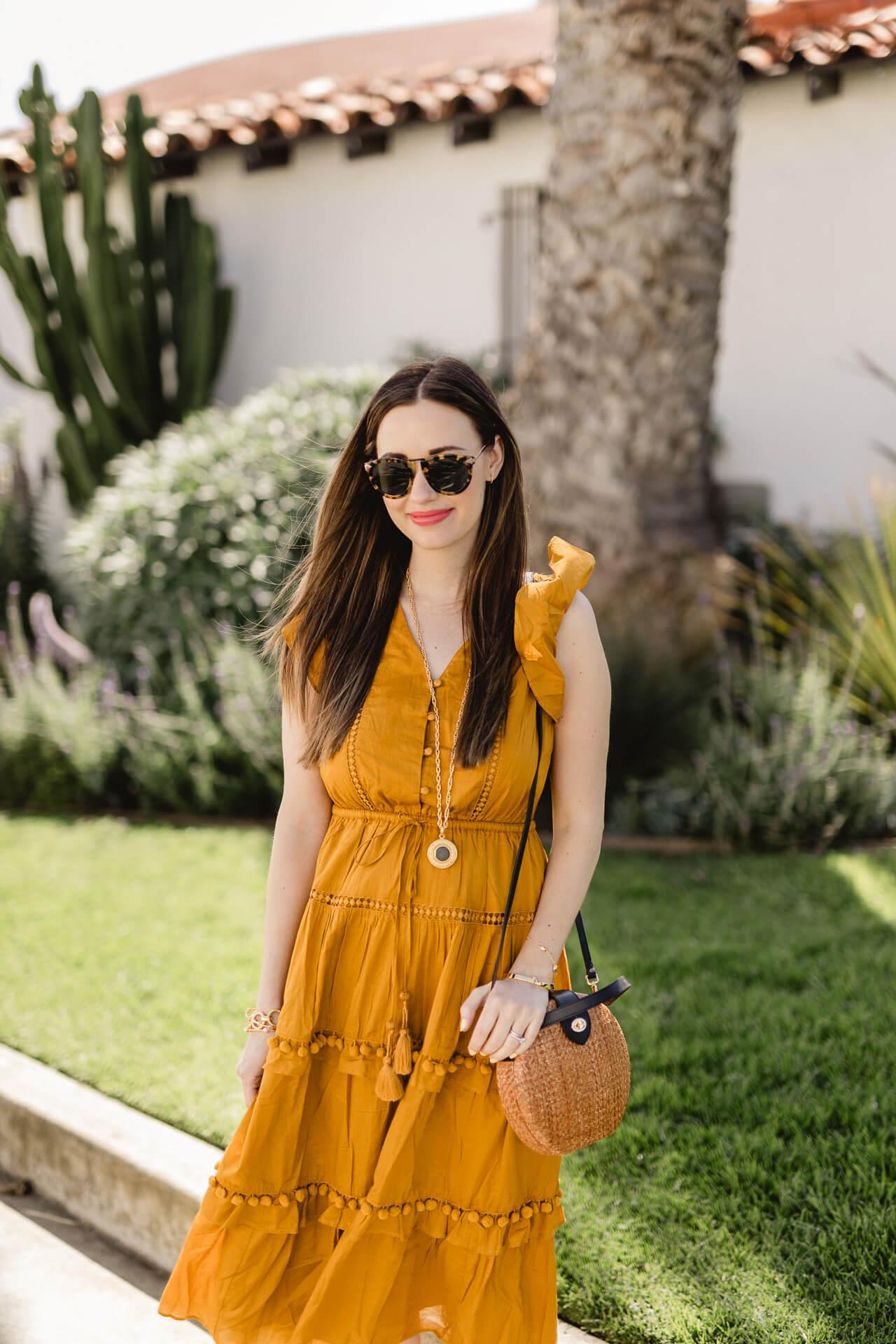A mustard dress from J.Crew! - M Loves M