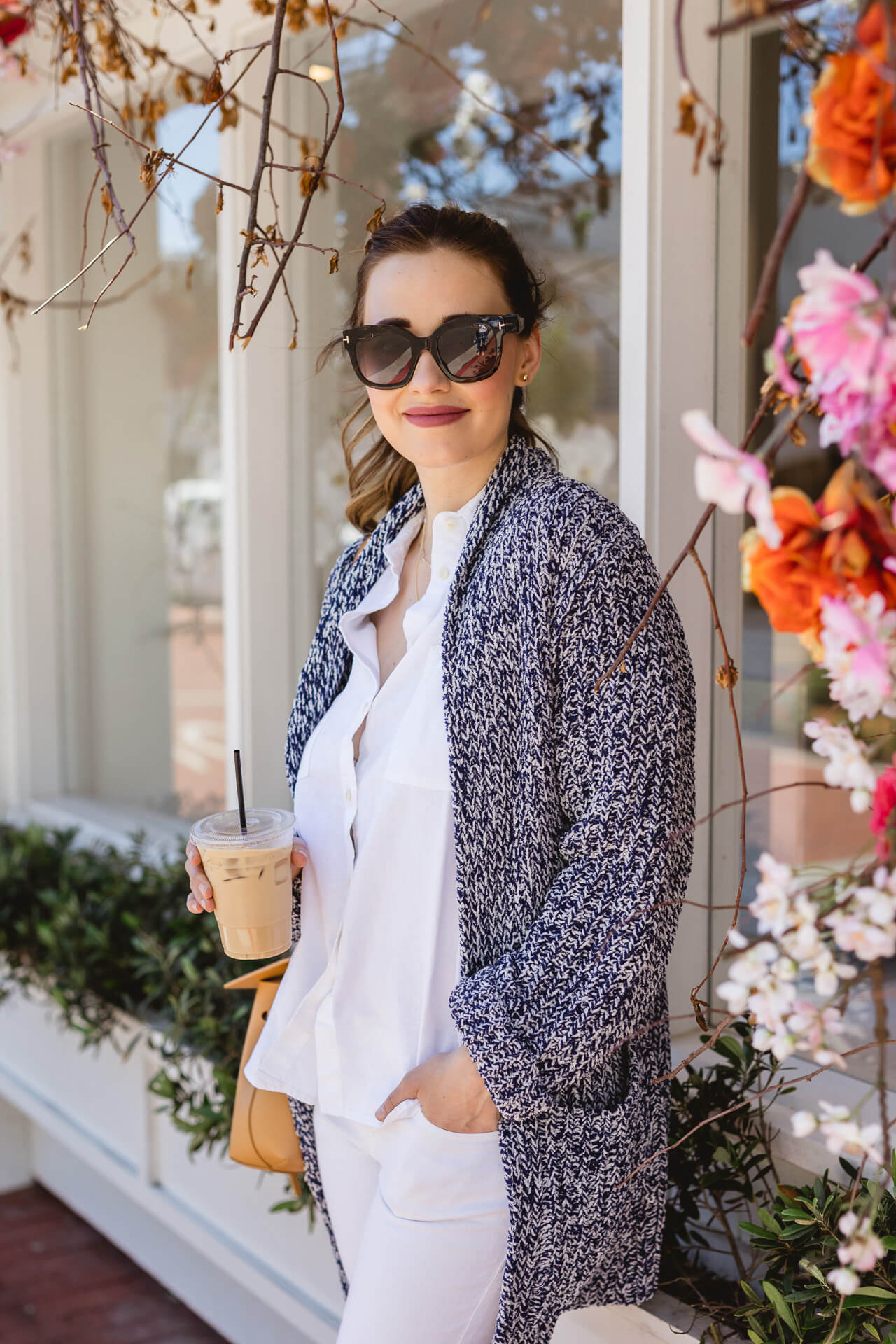 Love this long chunky cardigan! - M Loves M