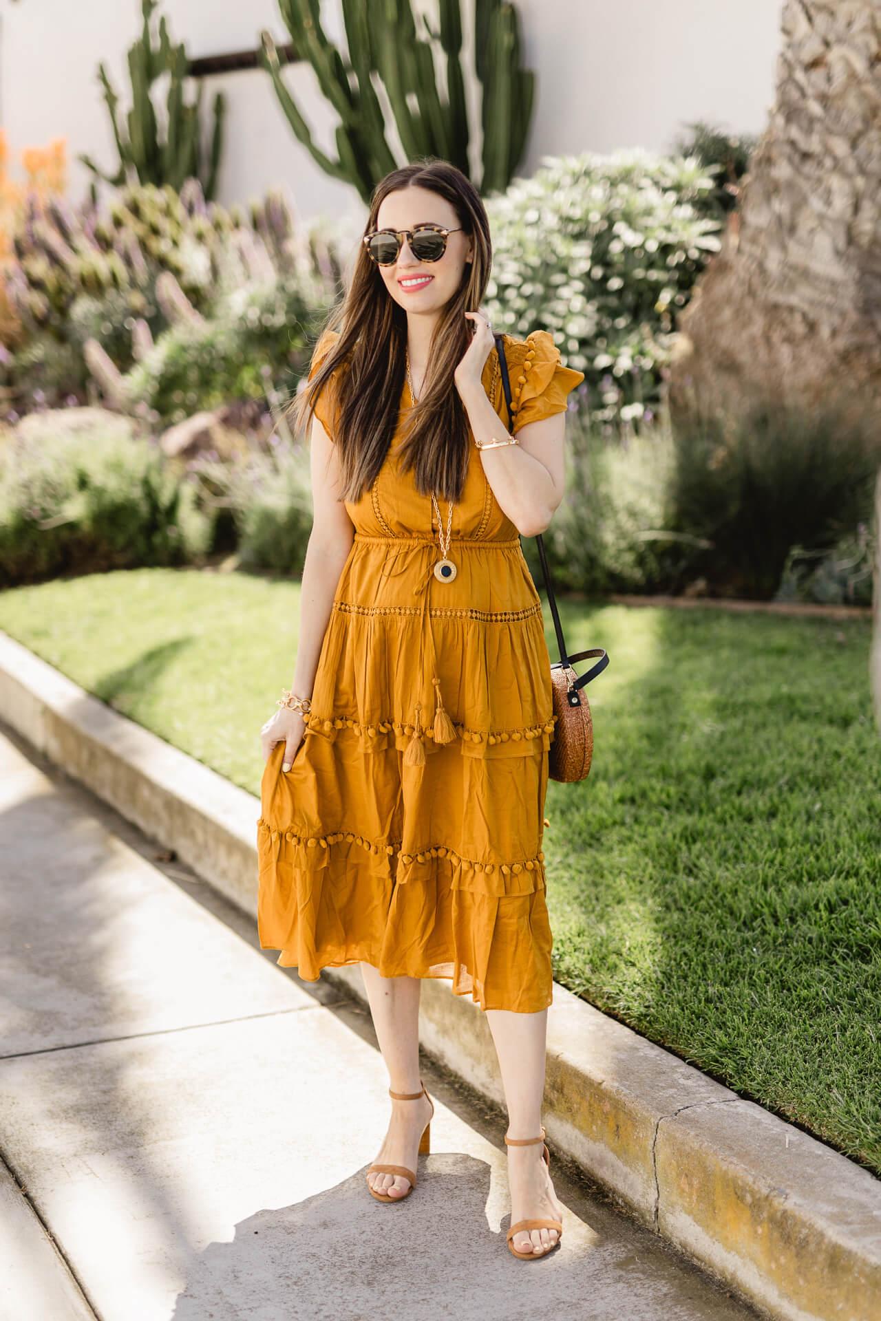 A fun pom pom dress! - M Loves M