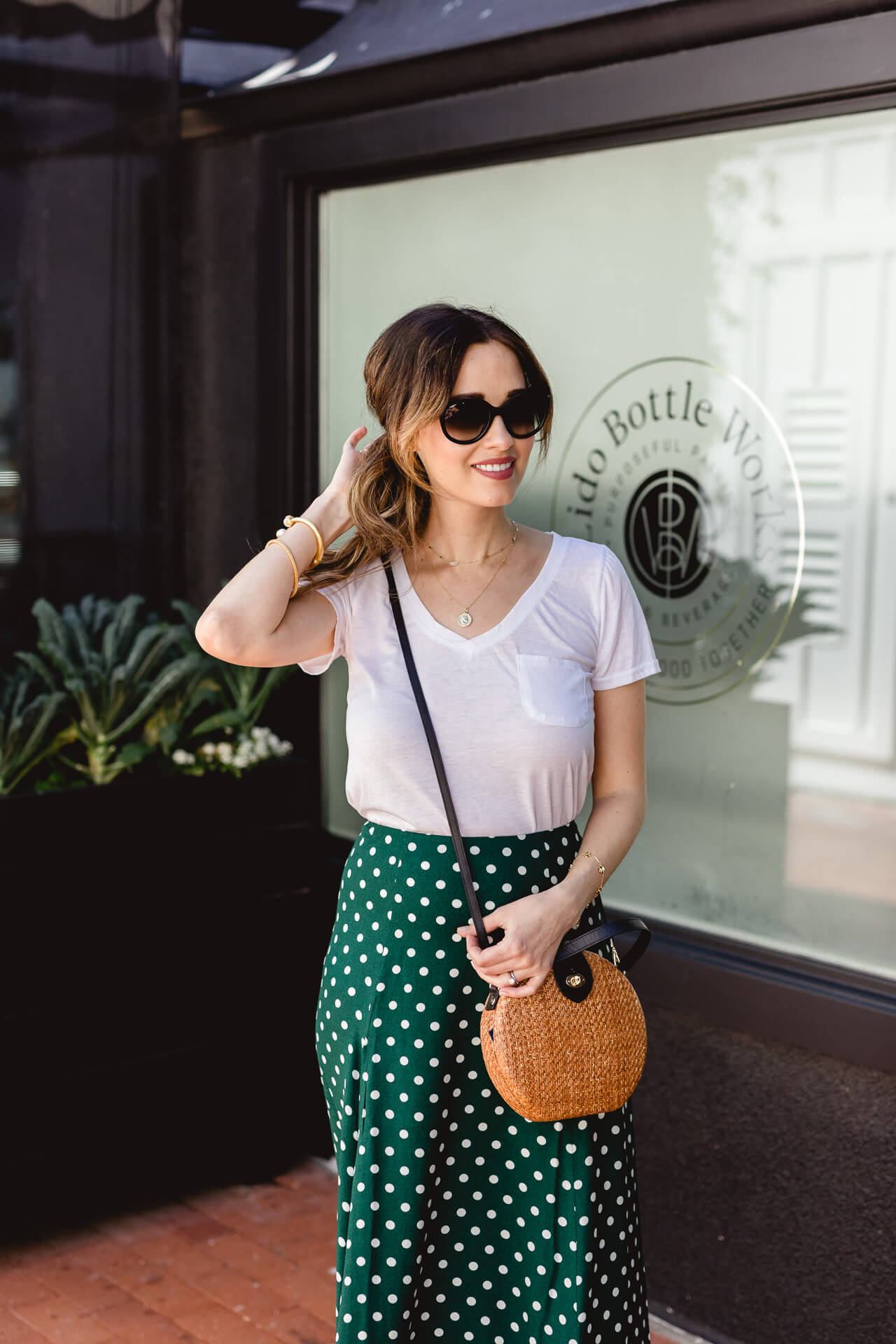 How to style a casual midi skirt! - M Loves M