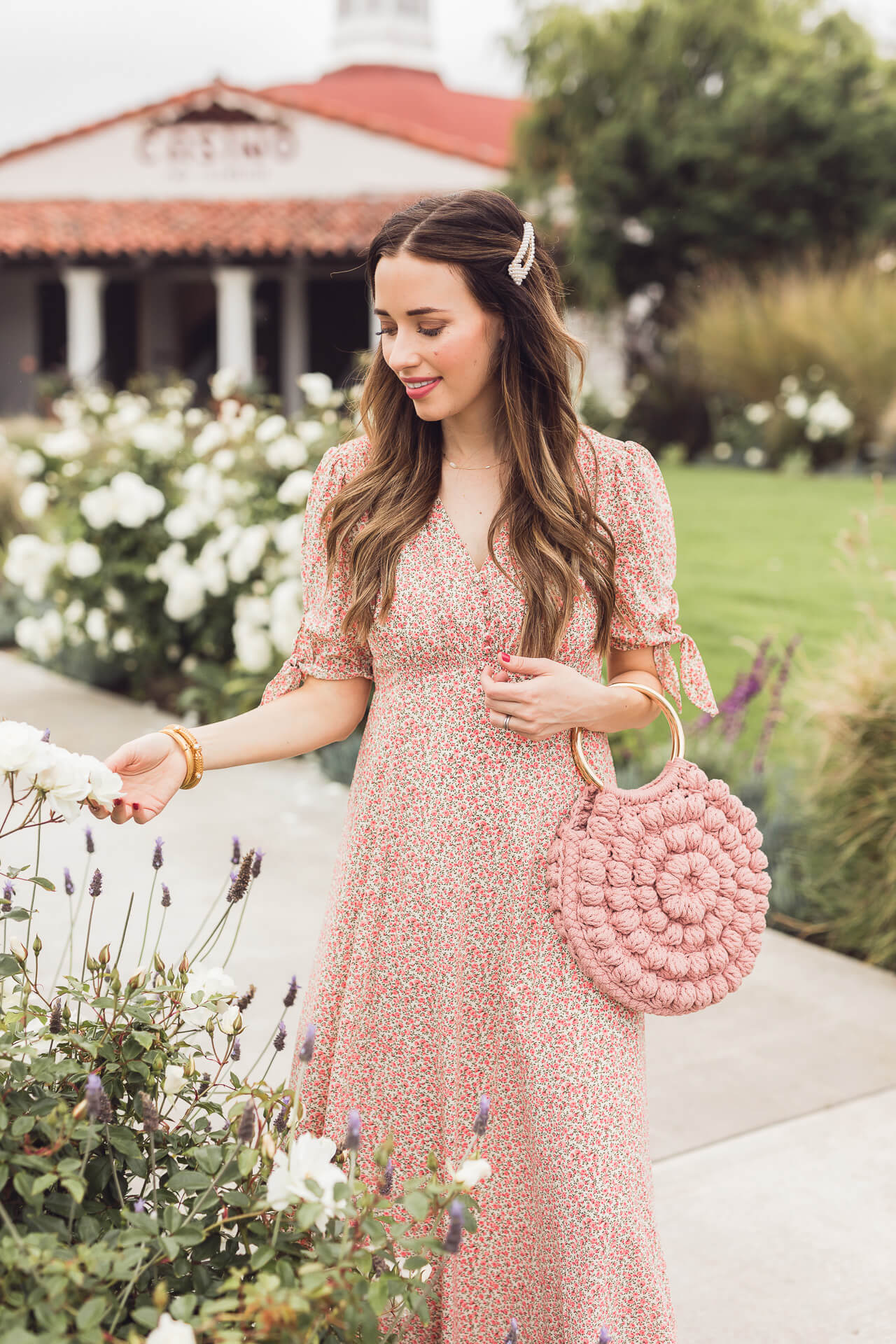 A summer floral maxi dress! - M Loves M