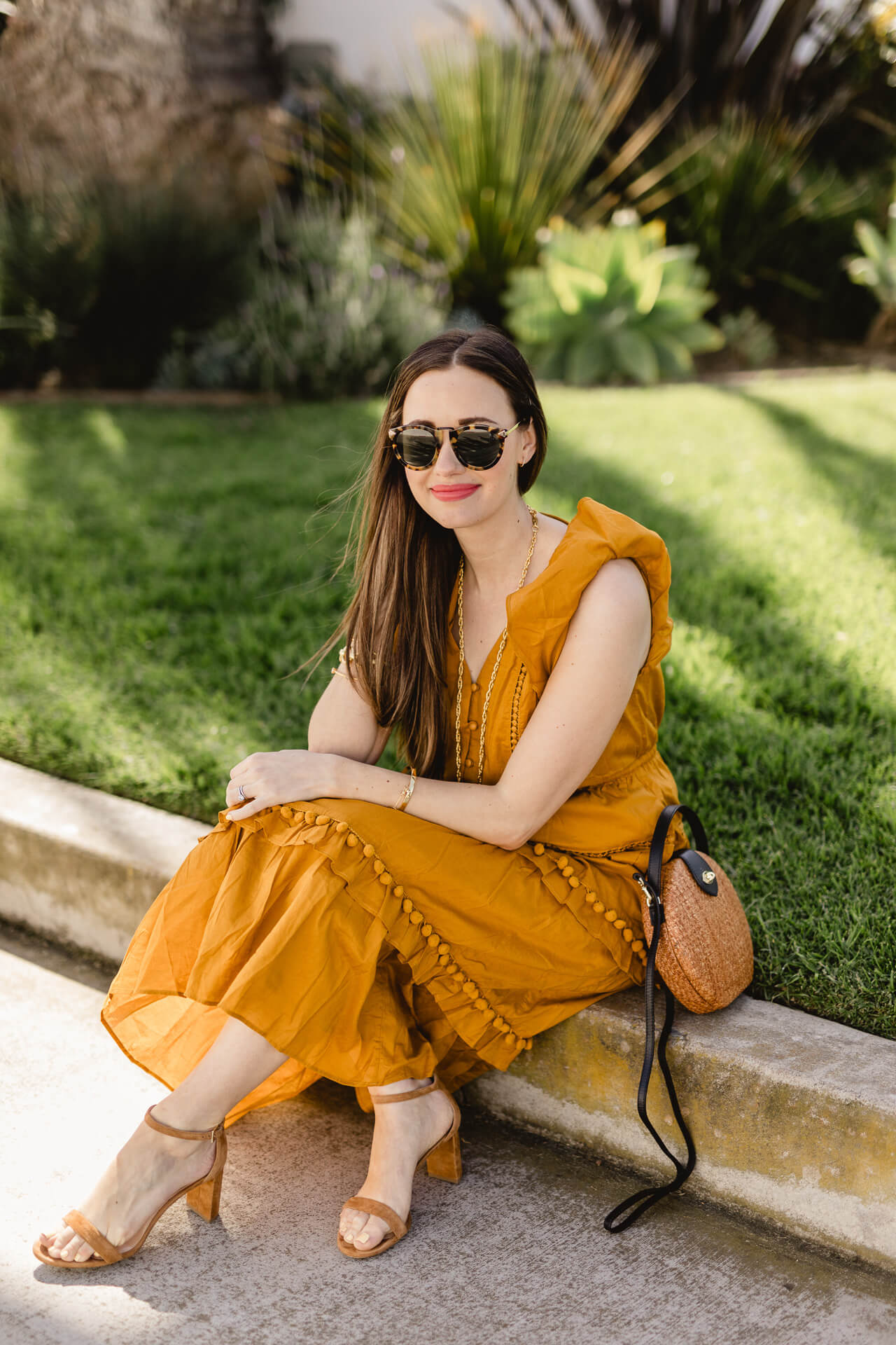 A fun yellow dress is one of my favorite spring trends! - M Loves M