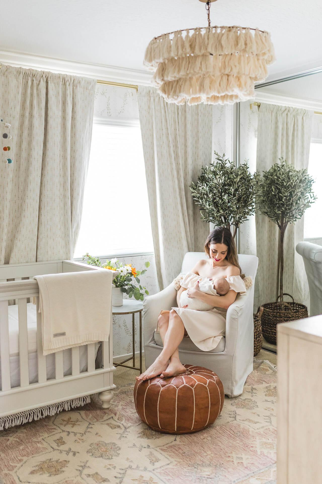 Our Little Girl's Nursery Decor | M Loves M
