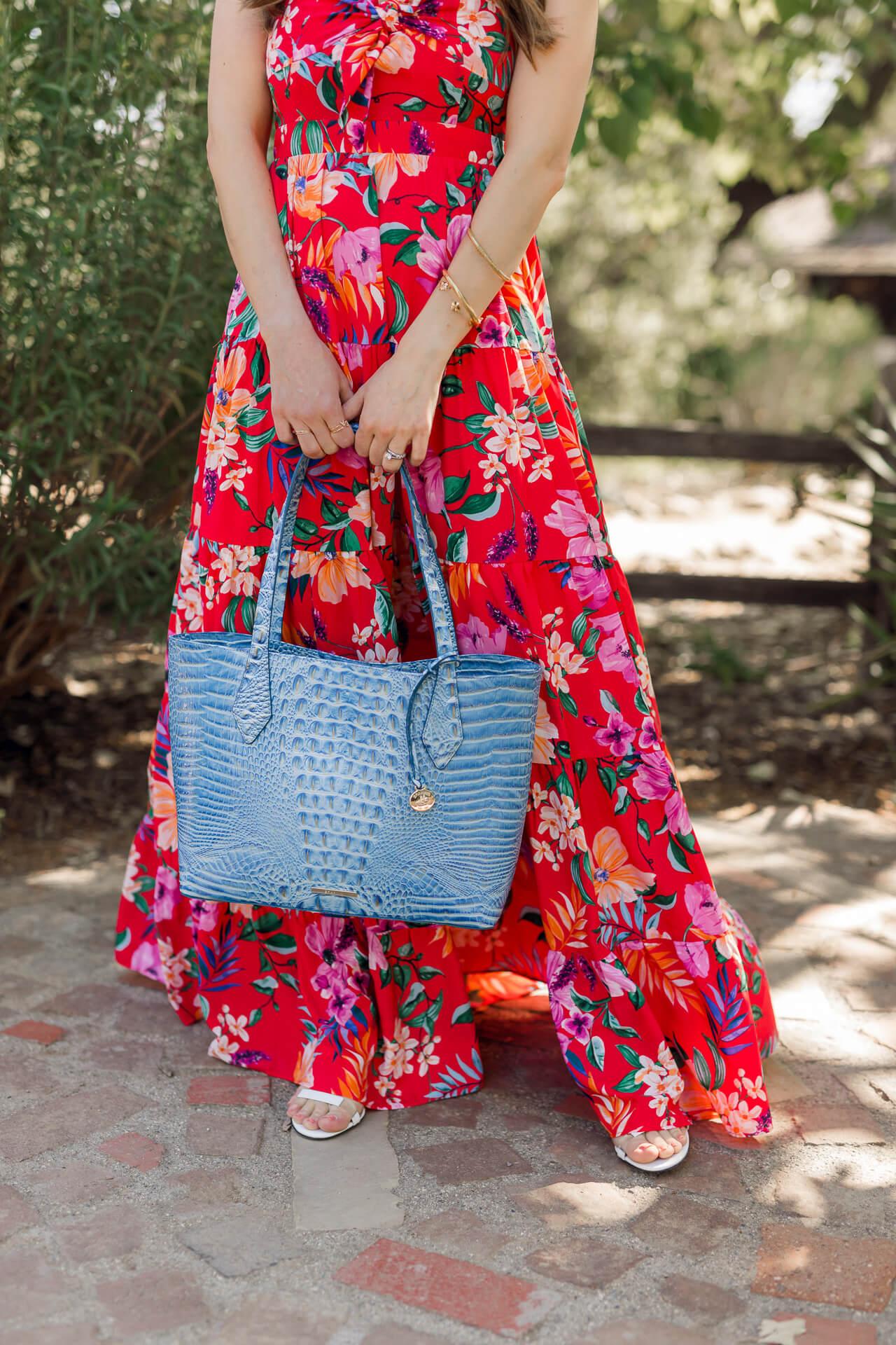A beautiful blue Brahmin Melbourne bag! - M Loves M