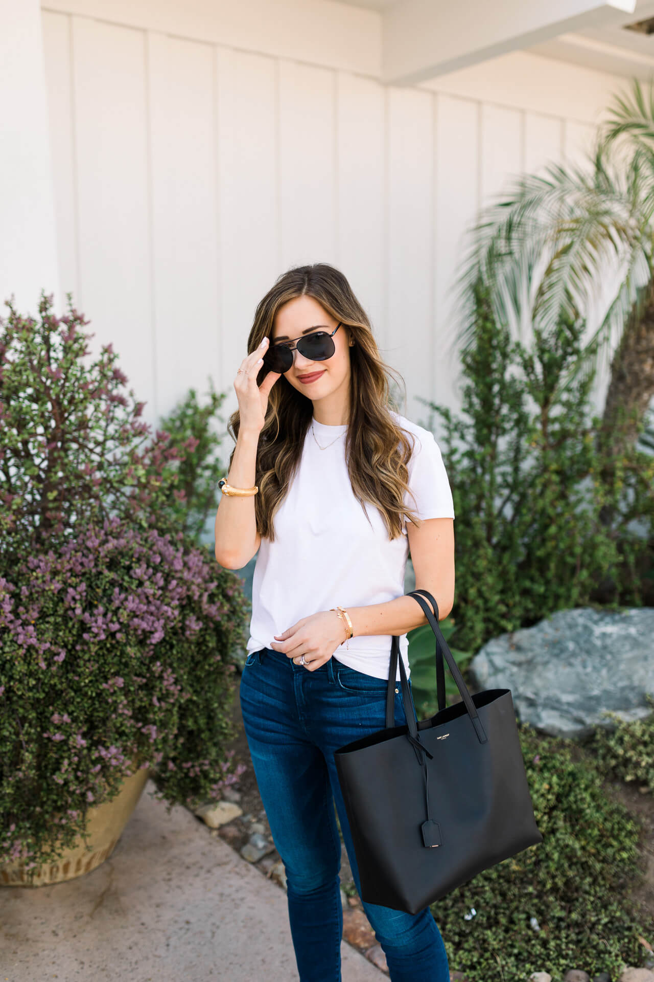 a classic jean outfit - M Loves M Los Angeles and Orange County fashion and lifestyle blogger @marmar