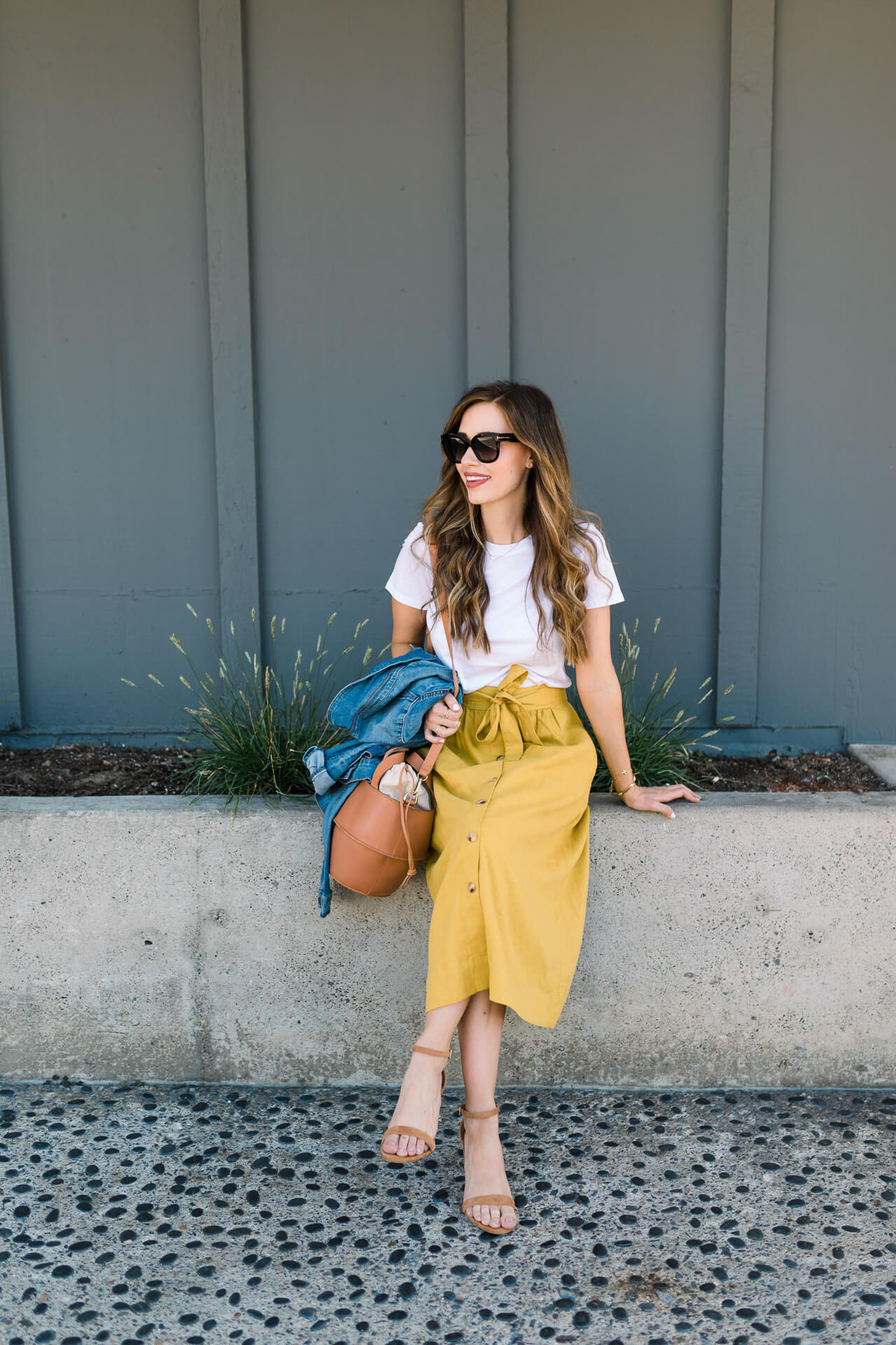 how to style a midi skirt - M Loves M @marmar