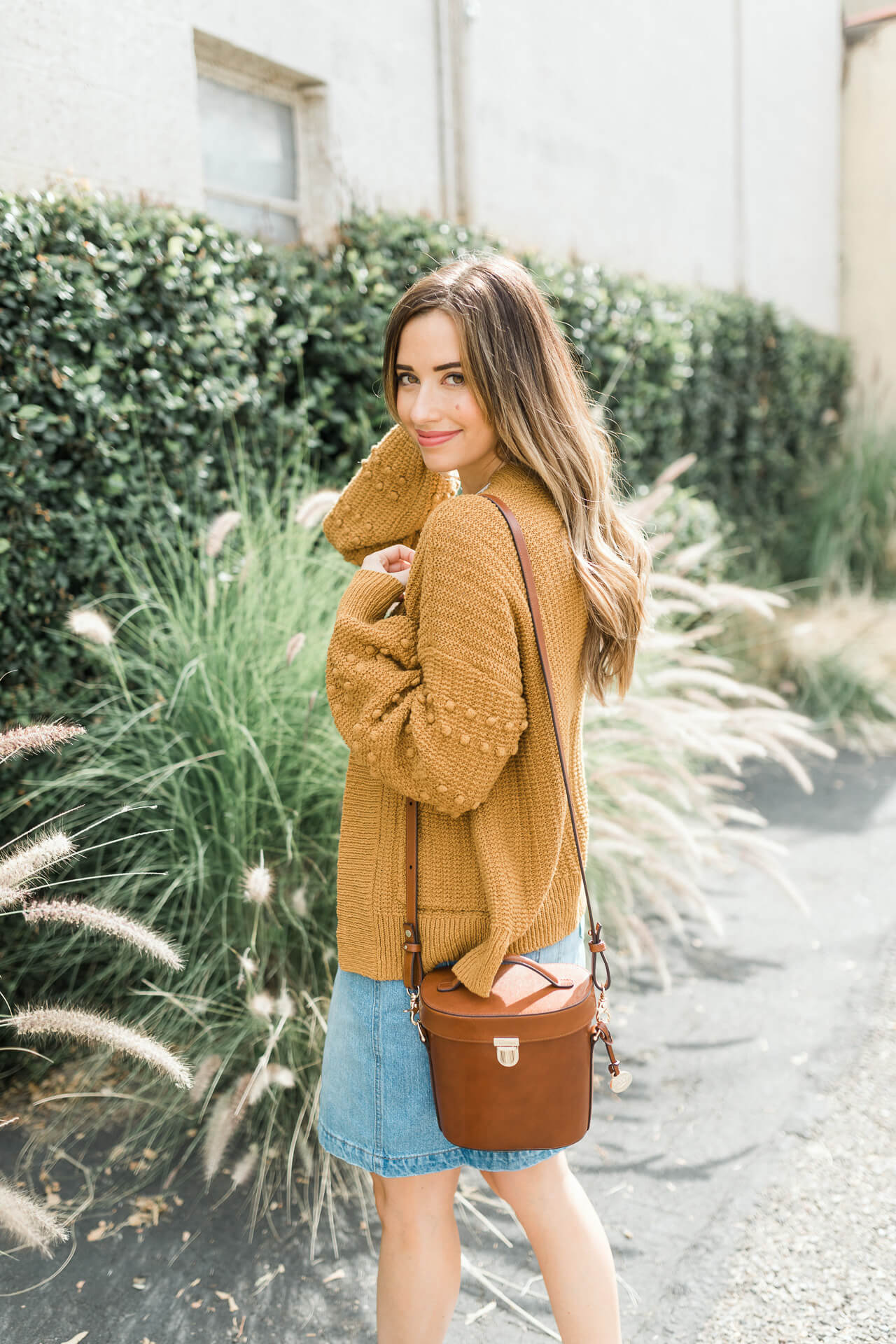 The cutest textured sweater from Madewell! - M Loves M @marmar