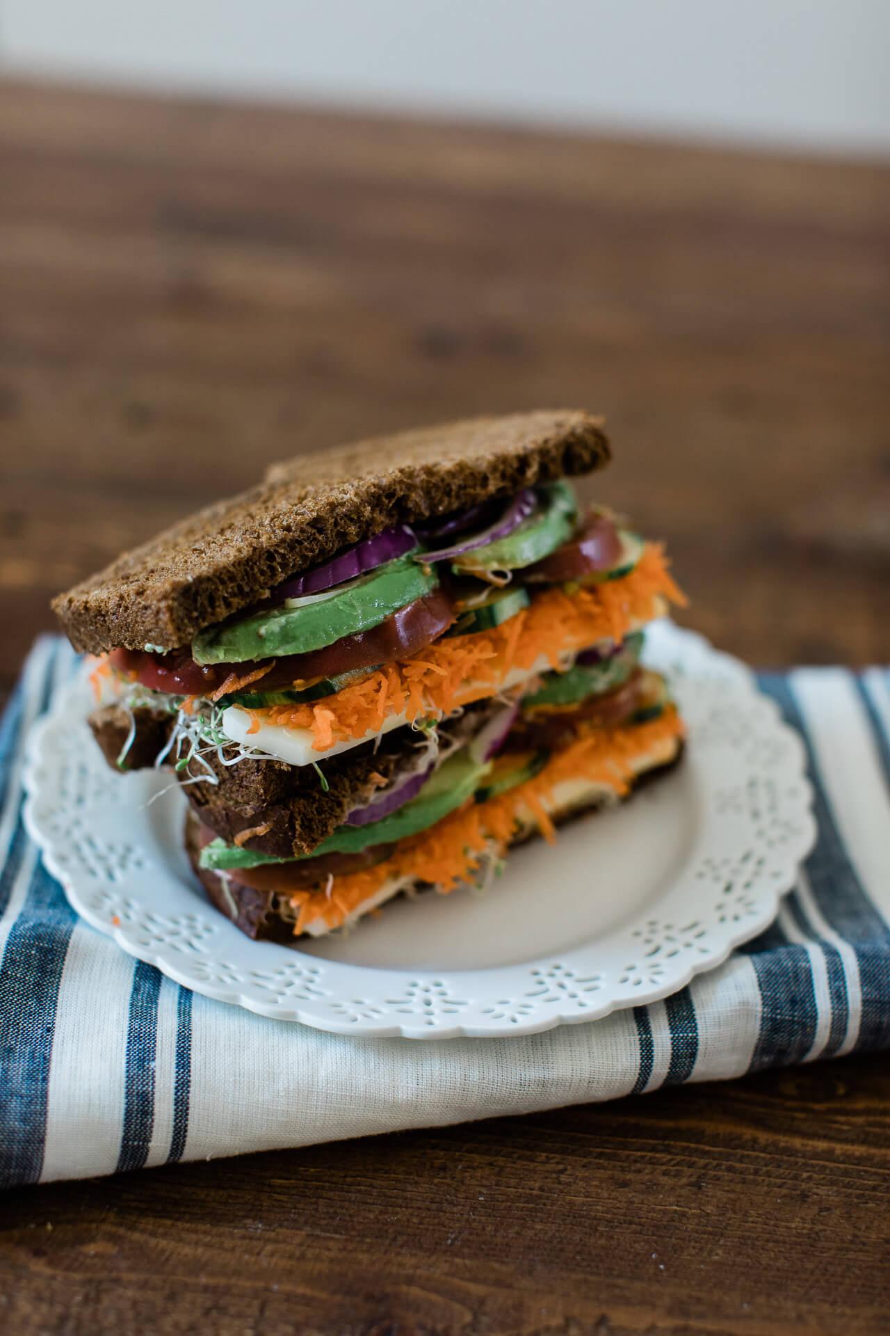 A yummy vegetable sandwich recipe! - M Loves M @marmar