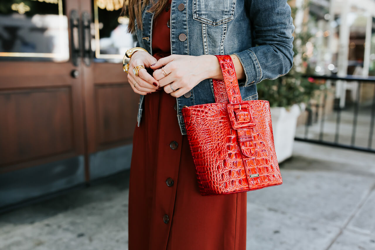 Love this red Brahmin bag! - M Loves M @marmar