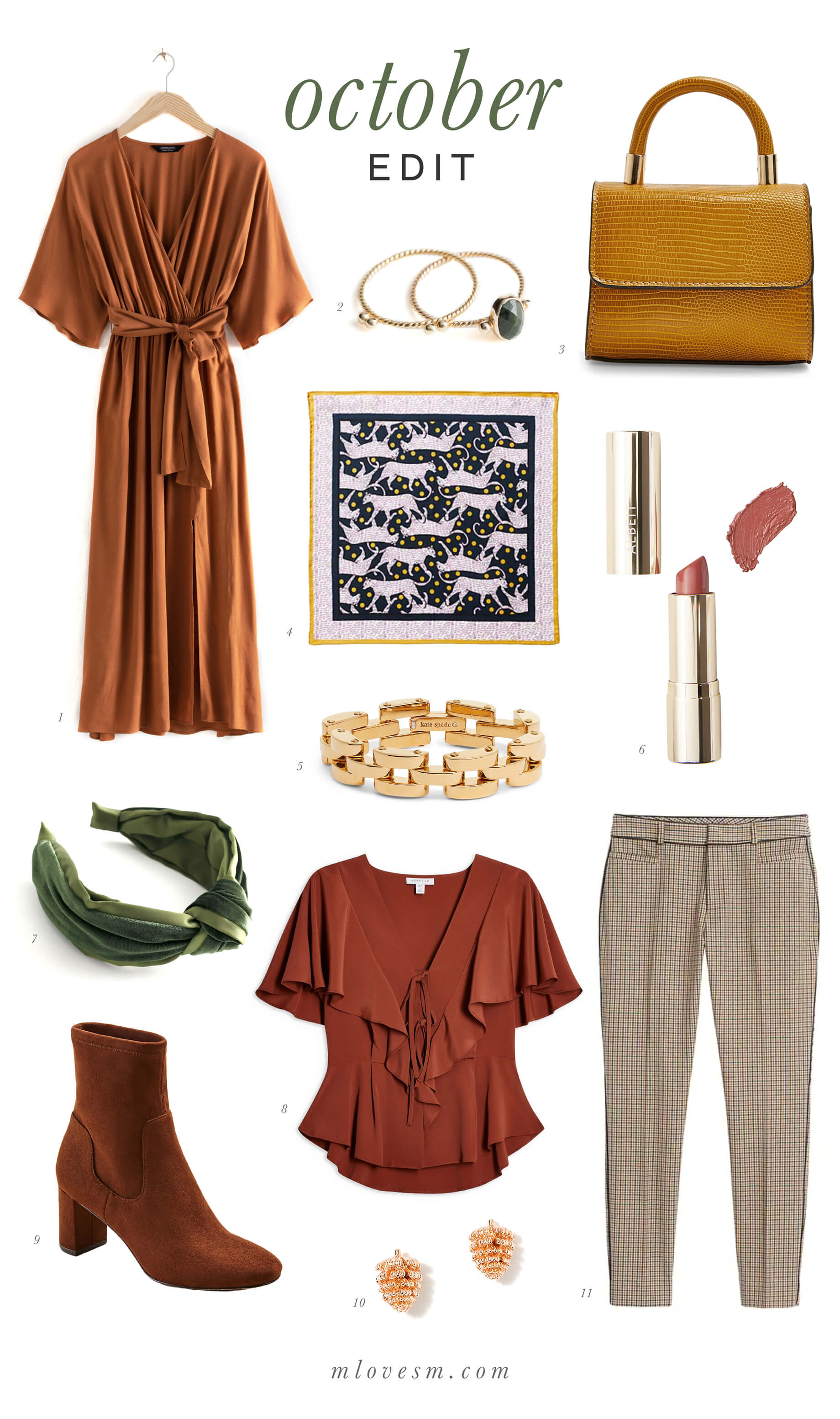 I am obsessed with rich jewel tones for fall! - M Loves M @marmar