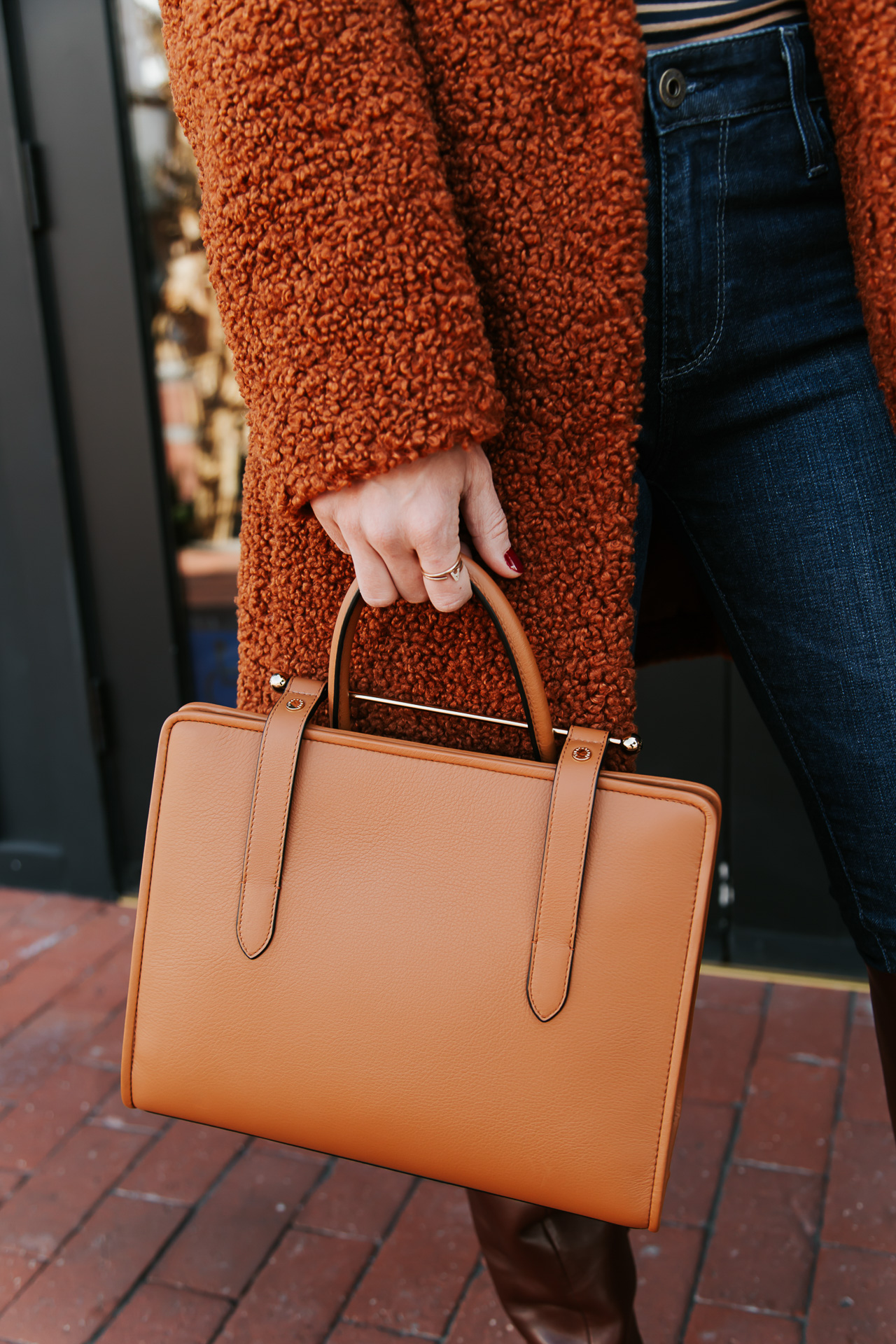 The cutest brown Strathberry bag! - M Loves M @marmar
