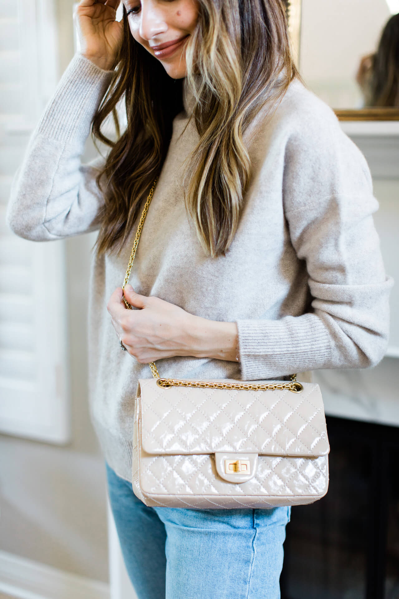 A dreamy cream Chanel quilted handbag! - M Loves M @marmar