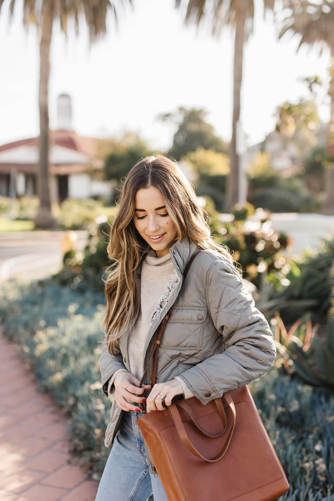 The Madewell Transport Bag in English Saddle! - M Loves M @marmar