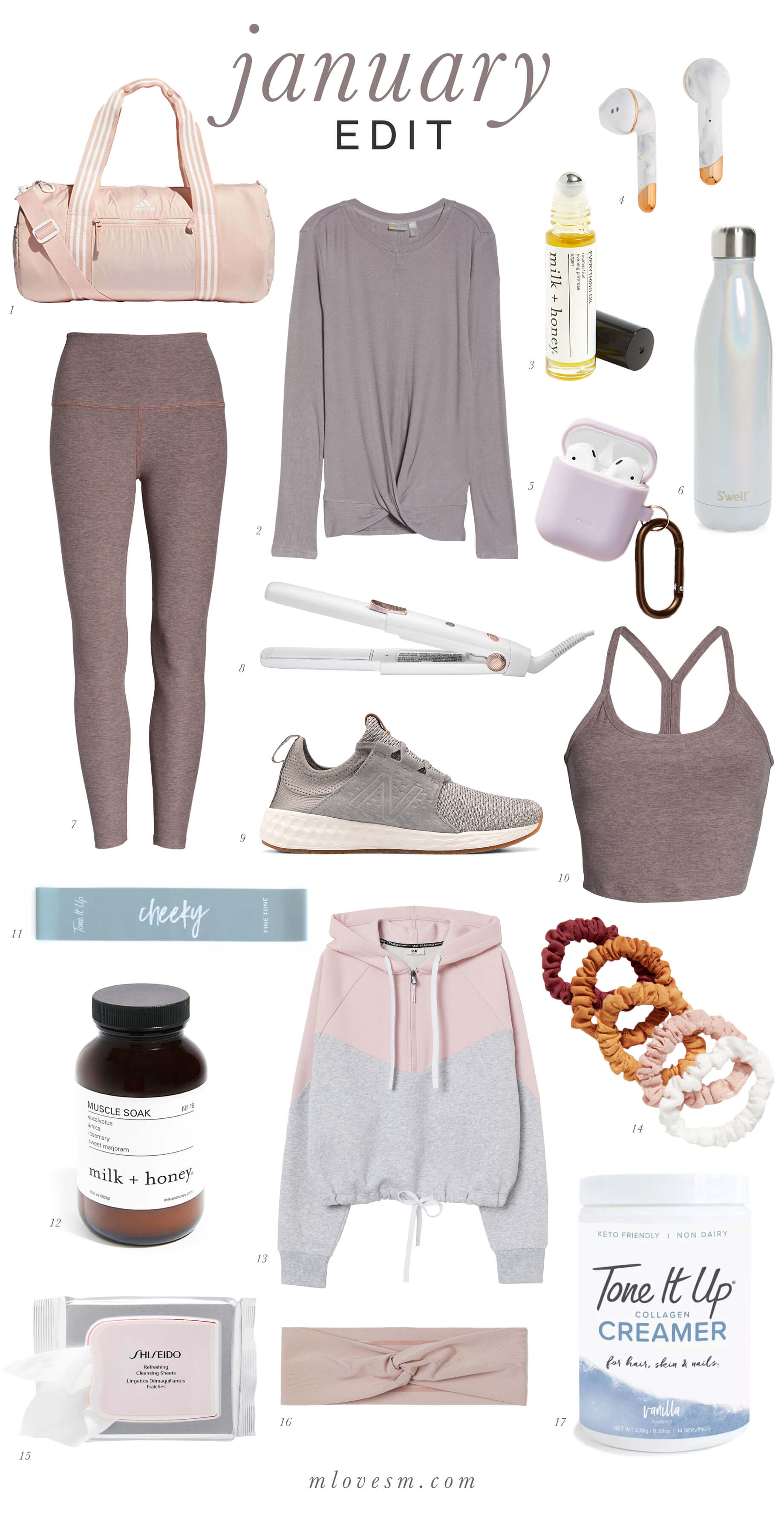 These are my workout and wellness faves! - M Loves M @marmar