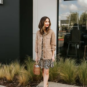 I am loving this leopard print dress for spring from Scoop by Walmart! - M Loves M @marmar