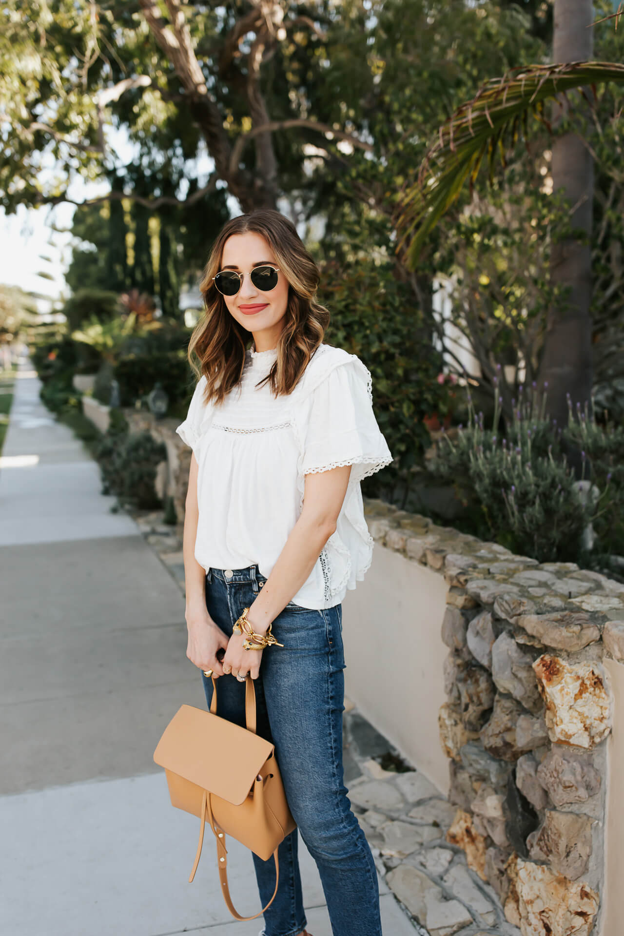 Love this white Free People Le Femme top! - M Loves M @marmar