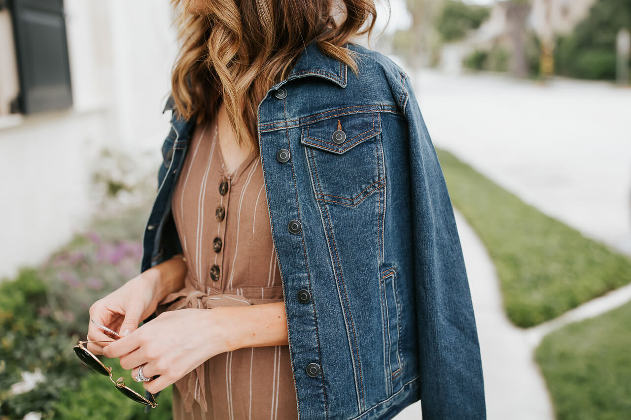 This denim jacket from Walmart is so chic! - M Loves M @marmar