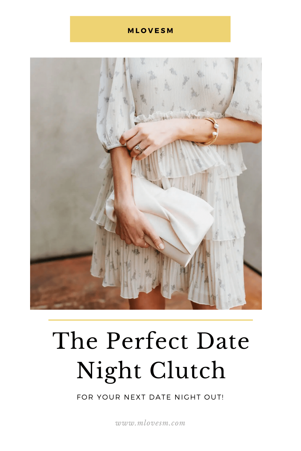 Here's the perfect date night clutch! - M Loves M @marmar