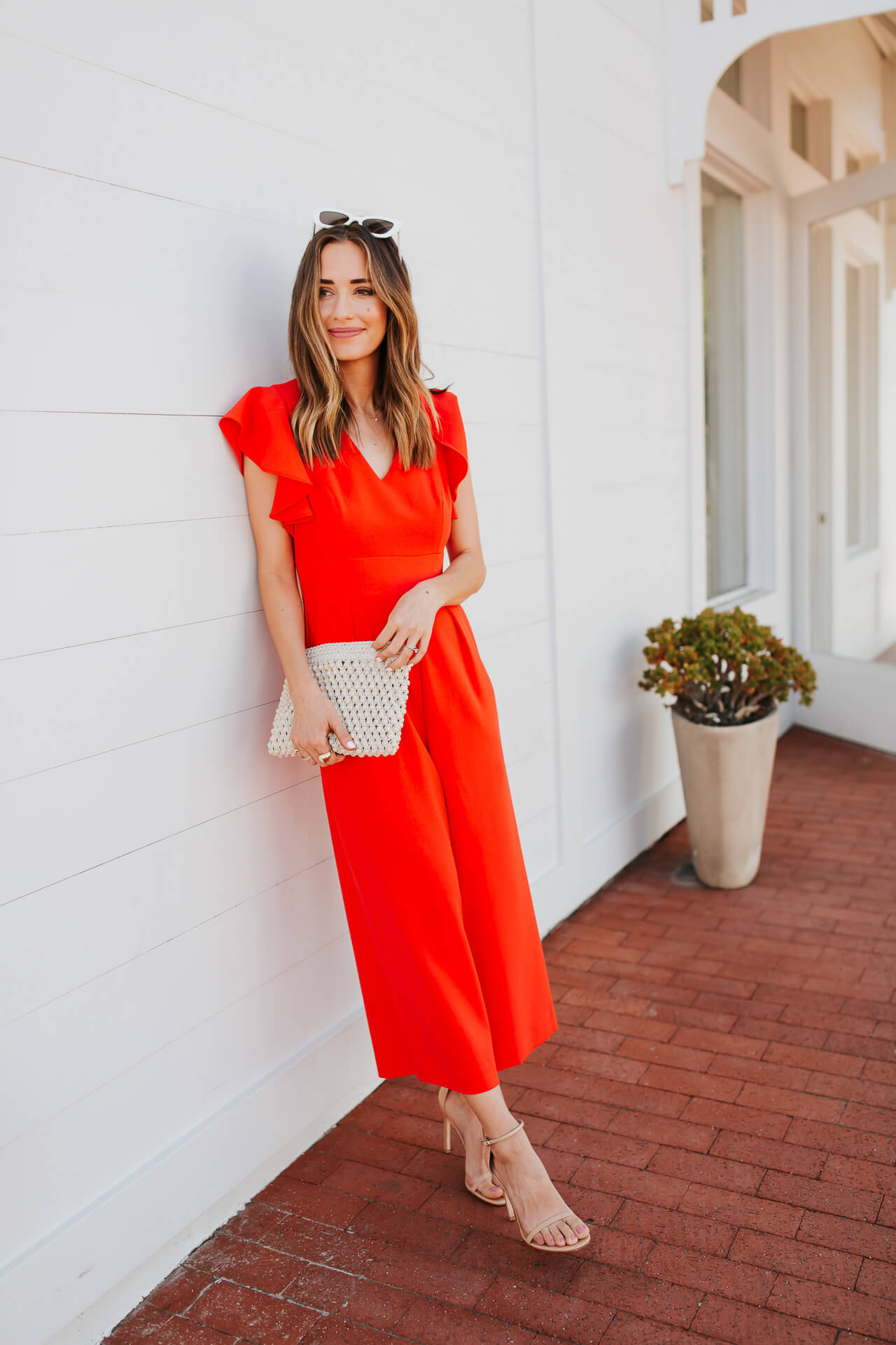 This adorable jumpsuit is in the Nordstrom sale! - M Loves M @marmar